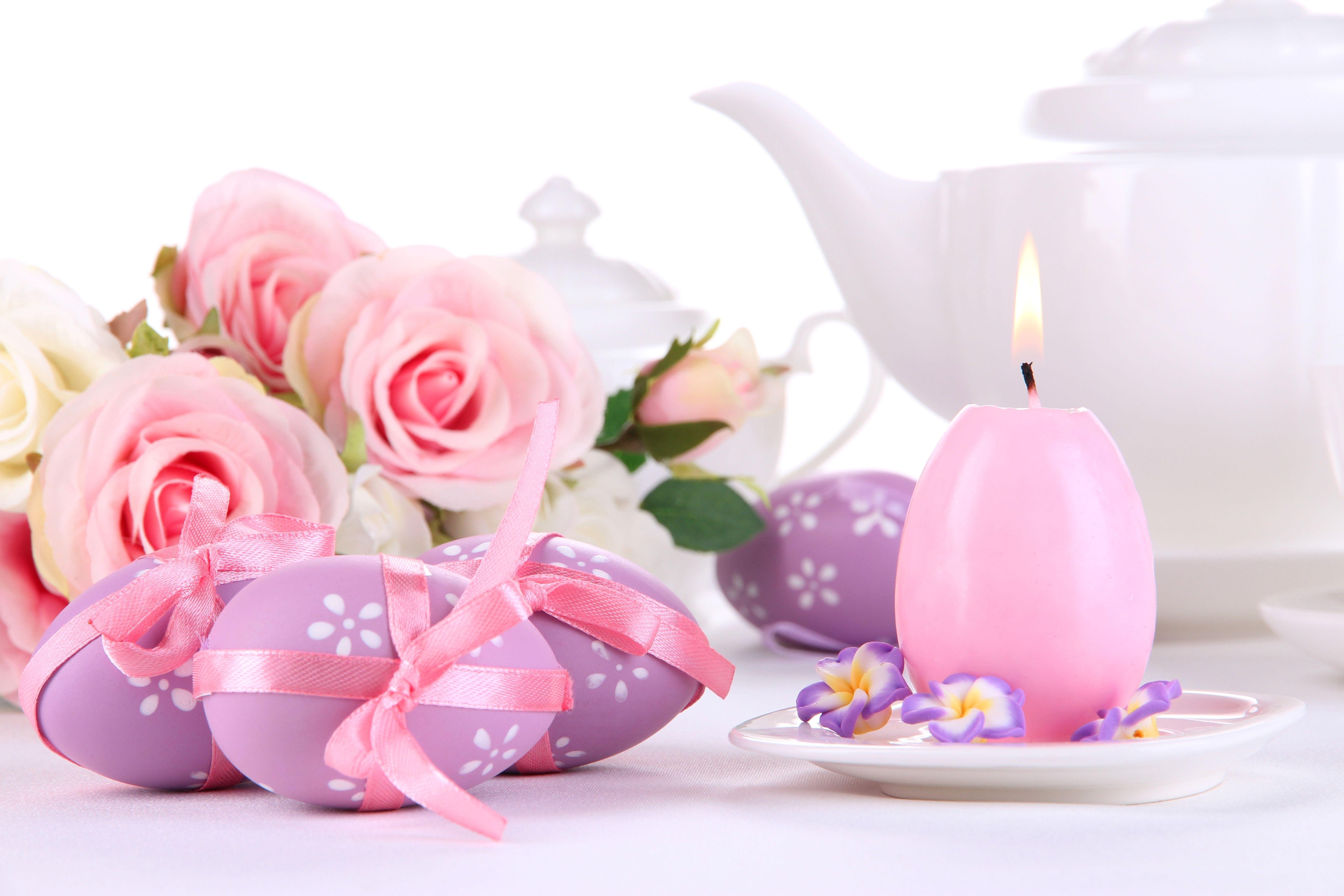 цветы свечи бесплатно