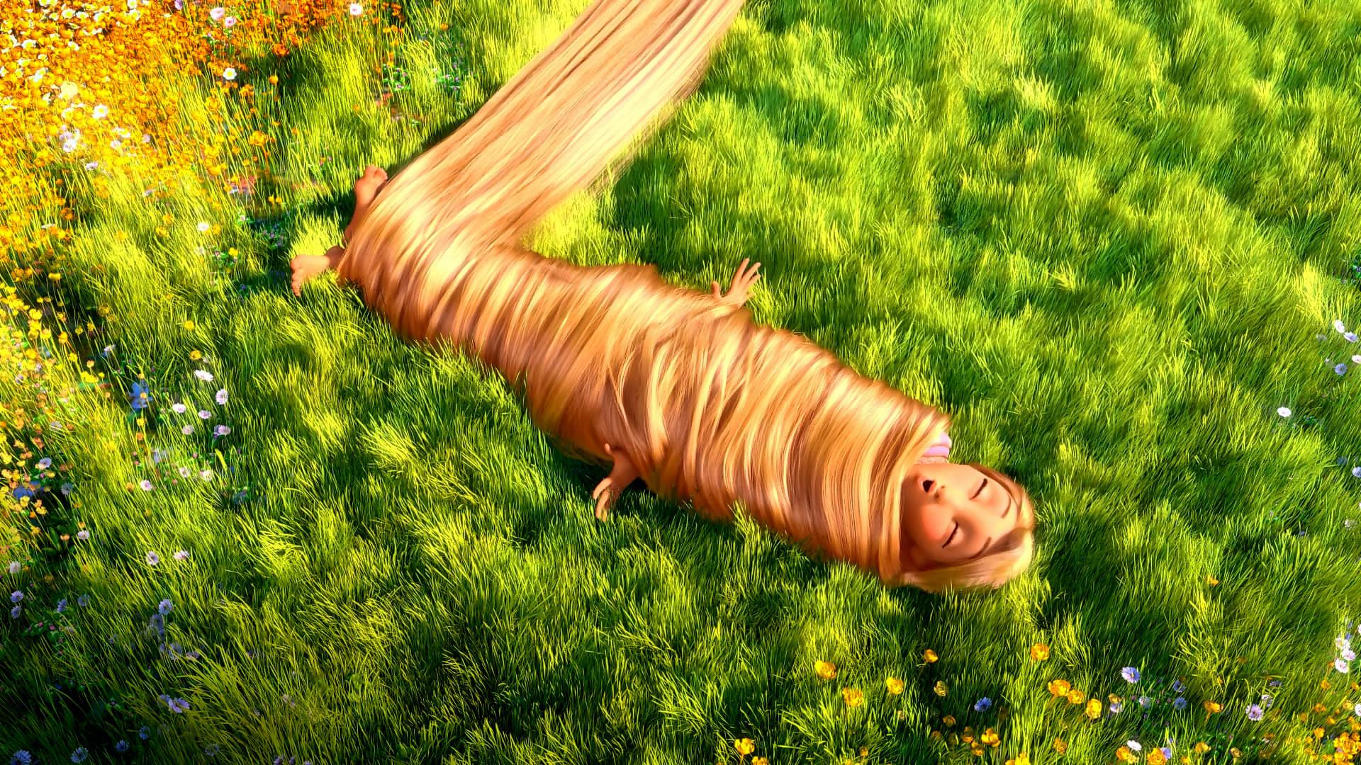 девушка волосы трава girl hair grass без смс