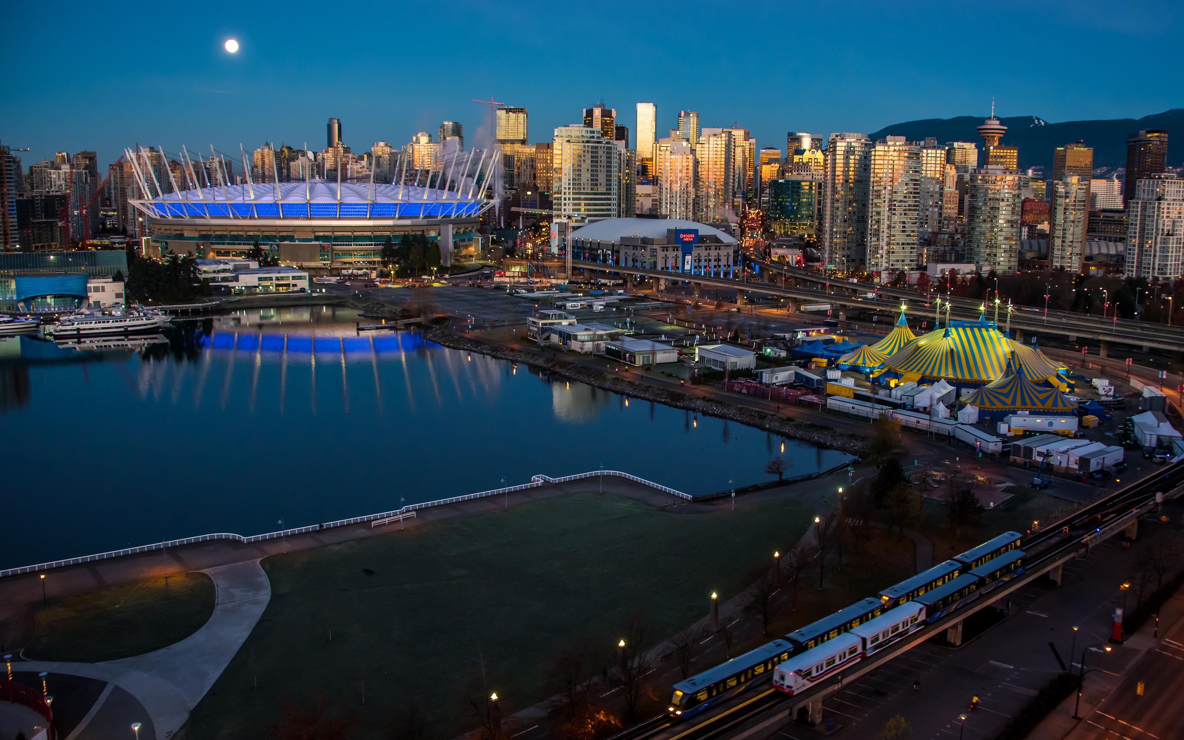Обои дома, canada, vancouver, Канада, Cities. Города foto 17