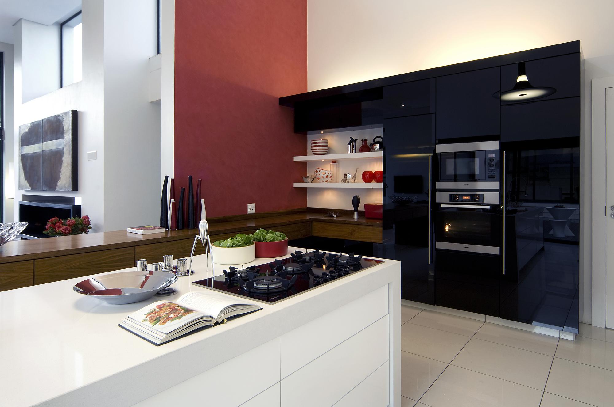 черно-белая кухня скачать