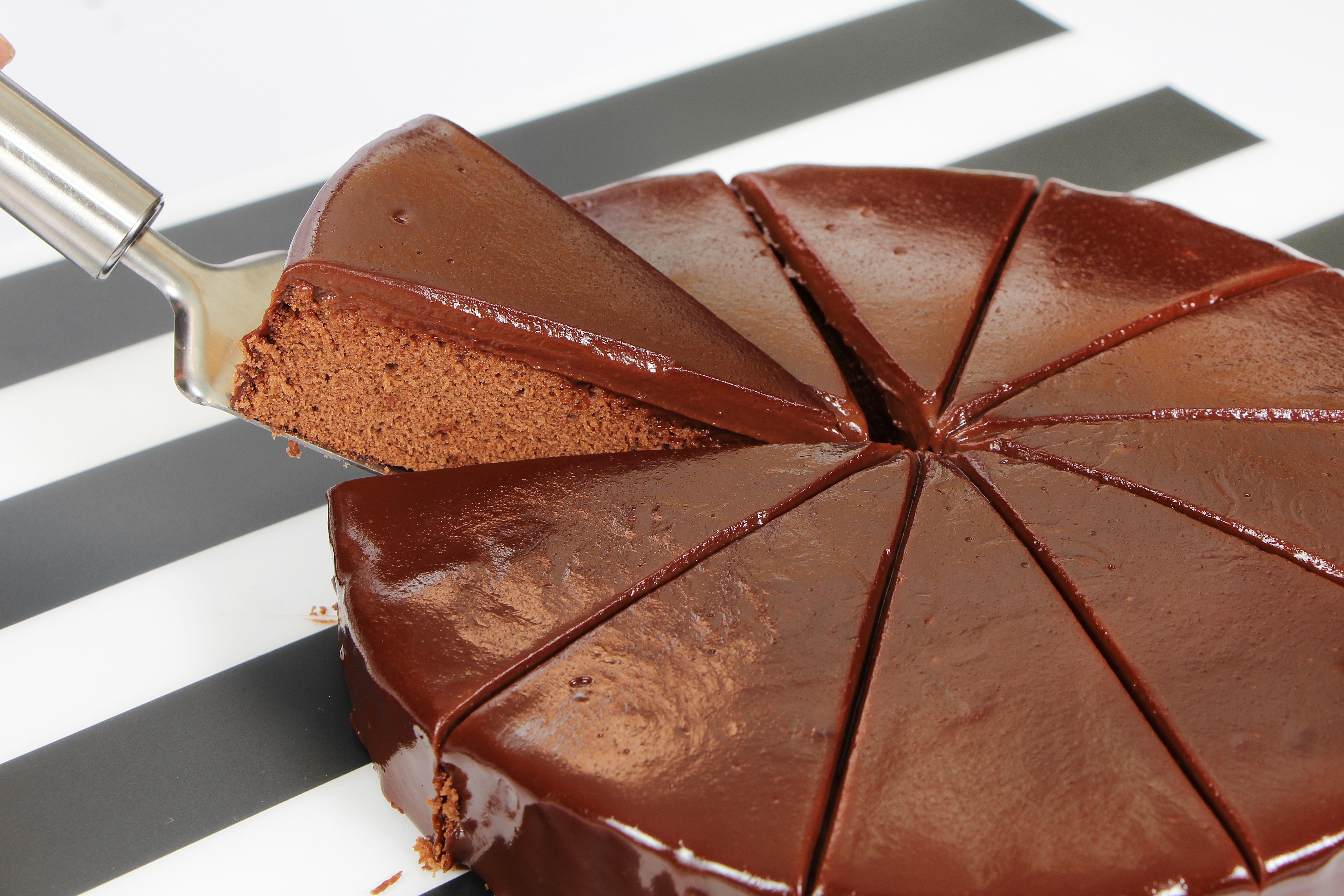 Фотографии Шоколад Торты часть Еда Кусок Пища Продукты питания