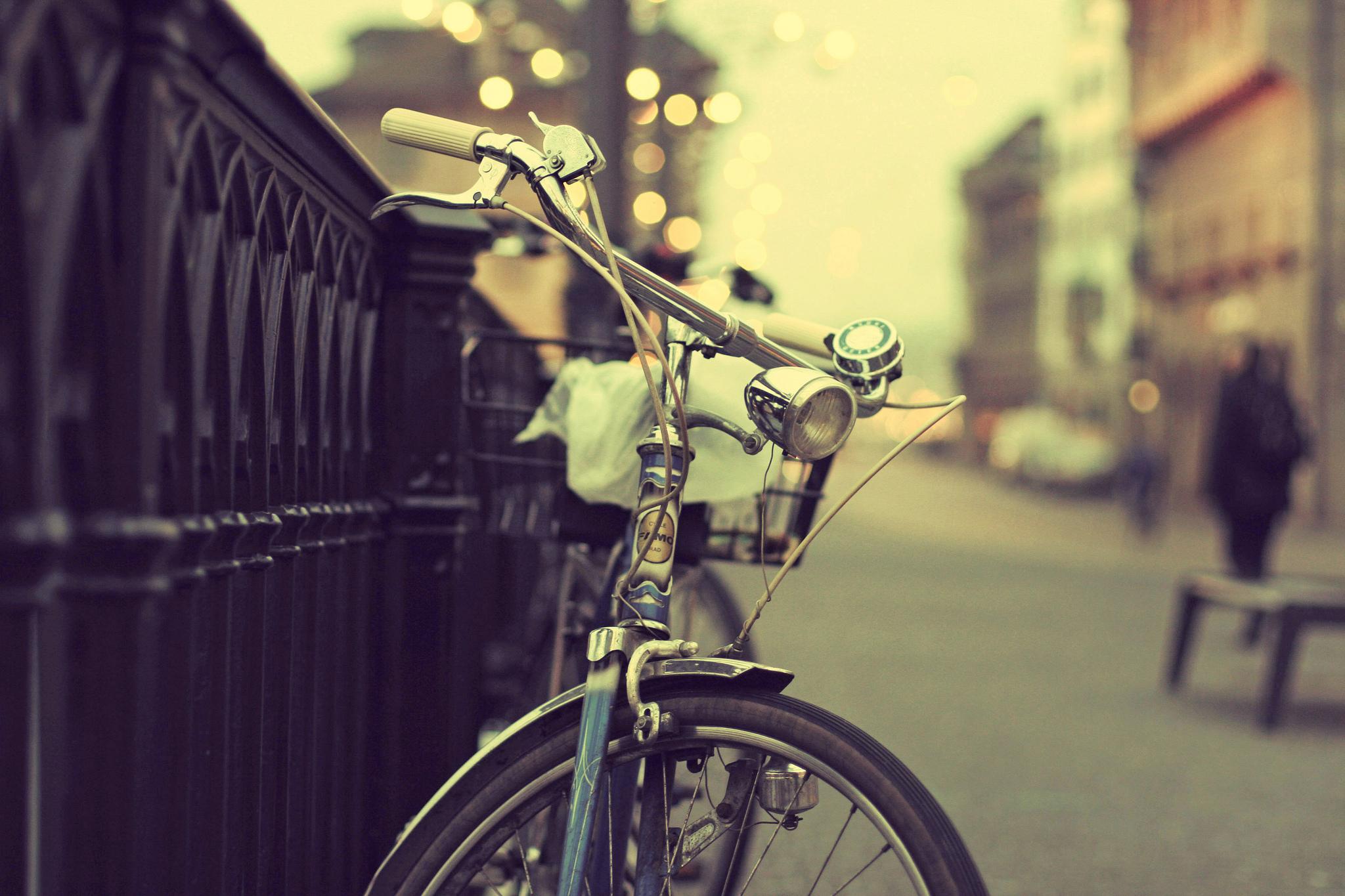 Брошенный велосипед без смс