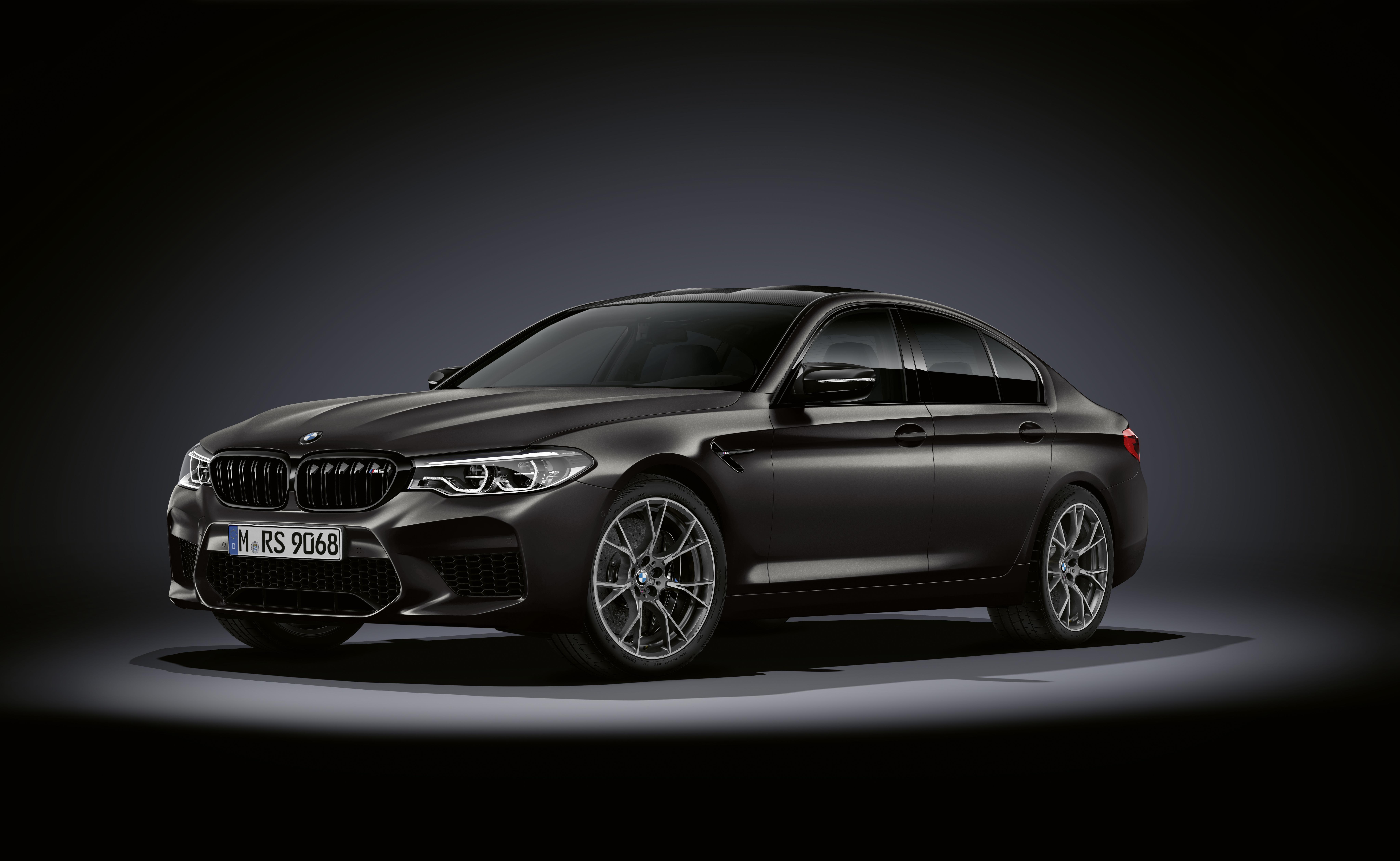 Фотография БМВ M5, F90, 2019, Edition 35 Years черная Автомобили BMW Черный черные черных авто машины машина автомобиль