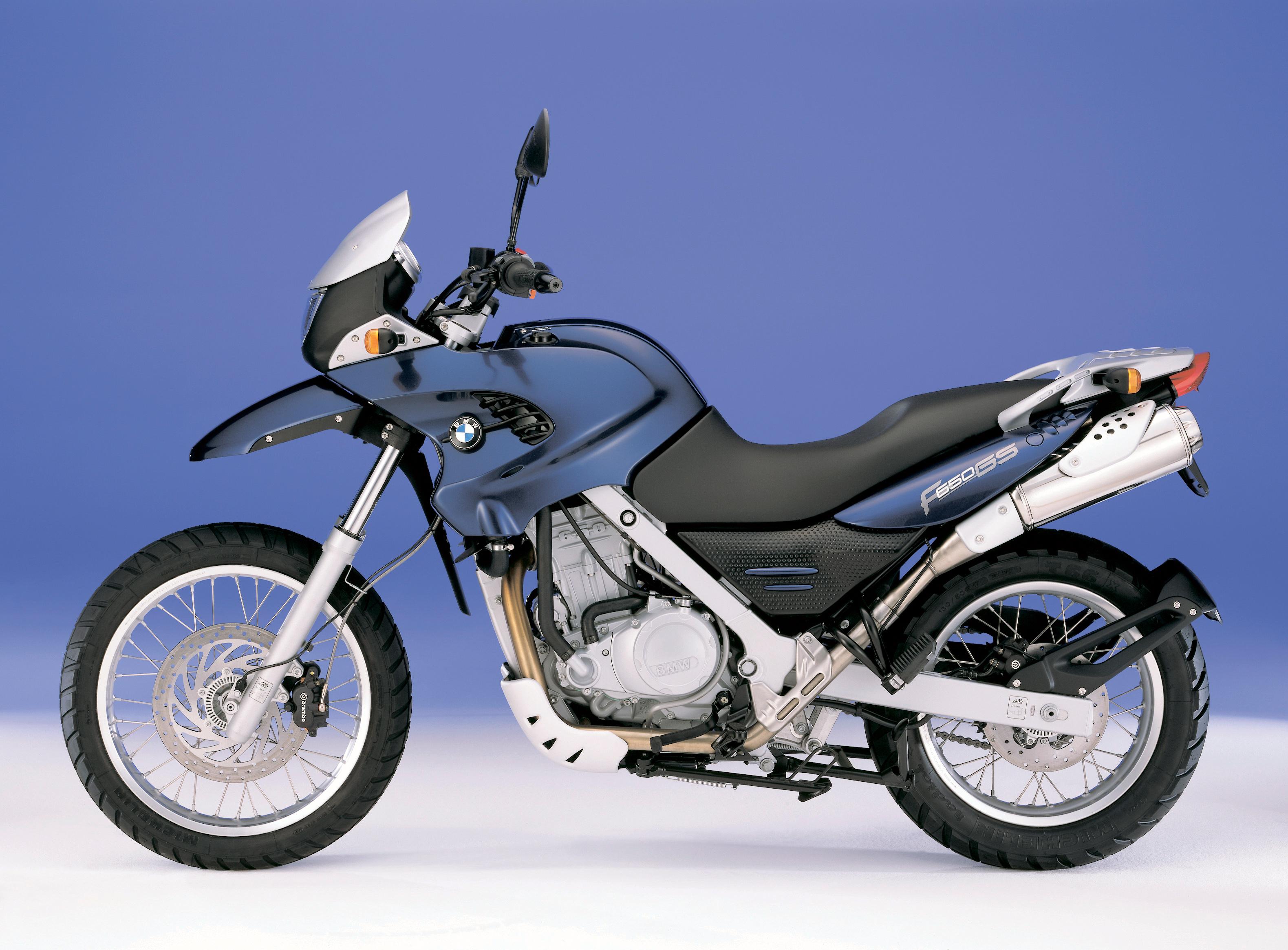 Фото БМВ F 650 GS (R13), 1999–2003 Мотоциклы Сбоку BMW - Мотоциклы мотоцикл