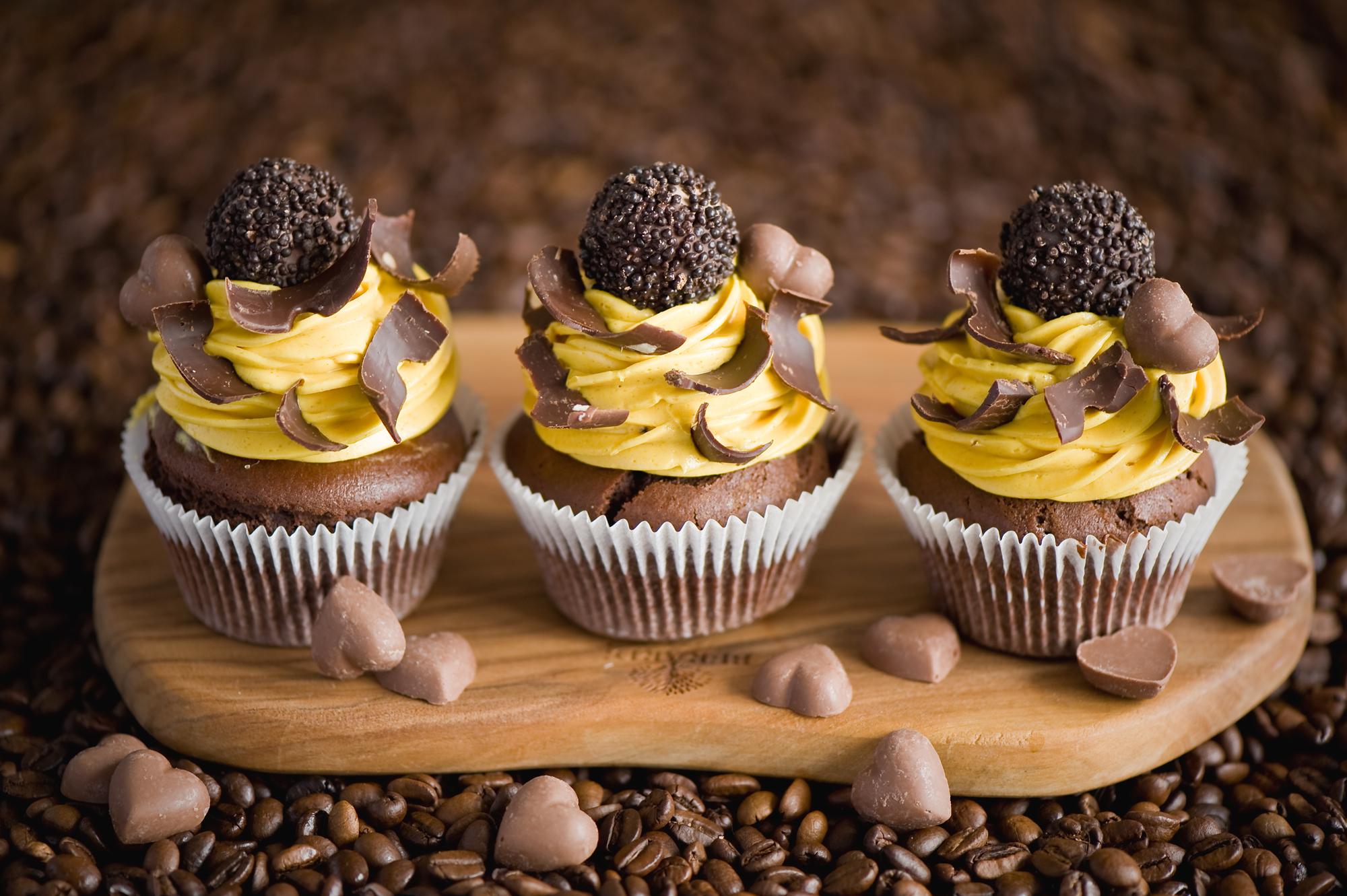 кексы крем шоколадный ореховый cupcakes cream chocolate walnut бесплатно