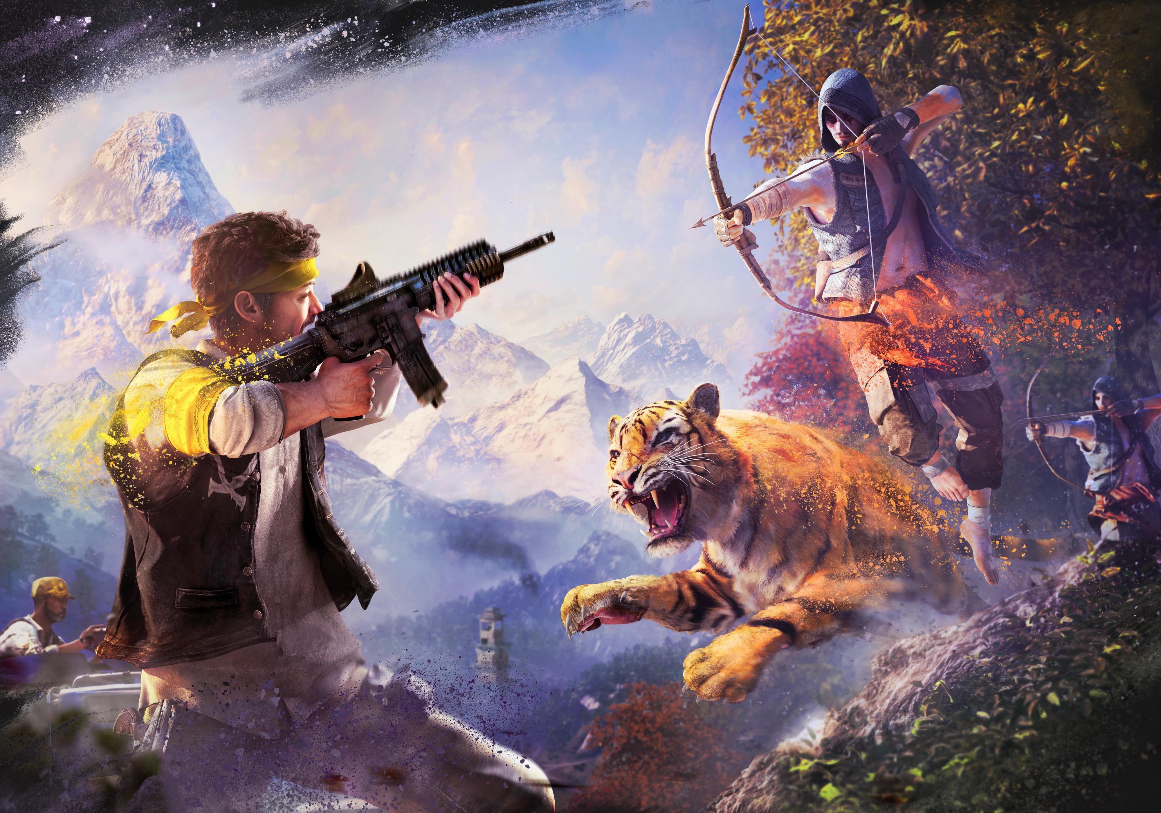 Far Cry 2 игры оружие мужчина без смс