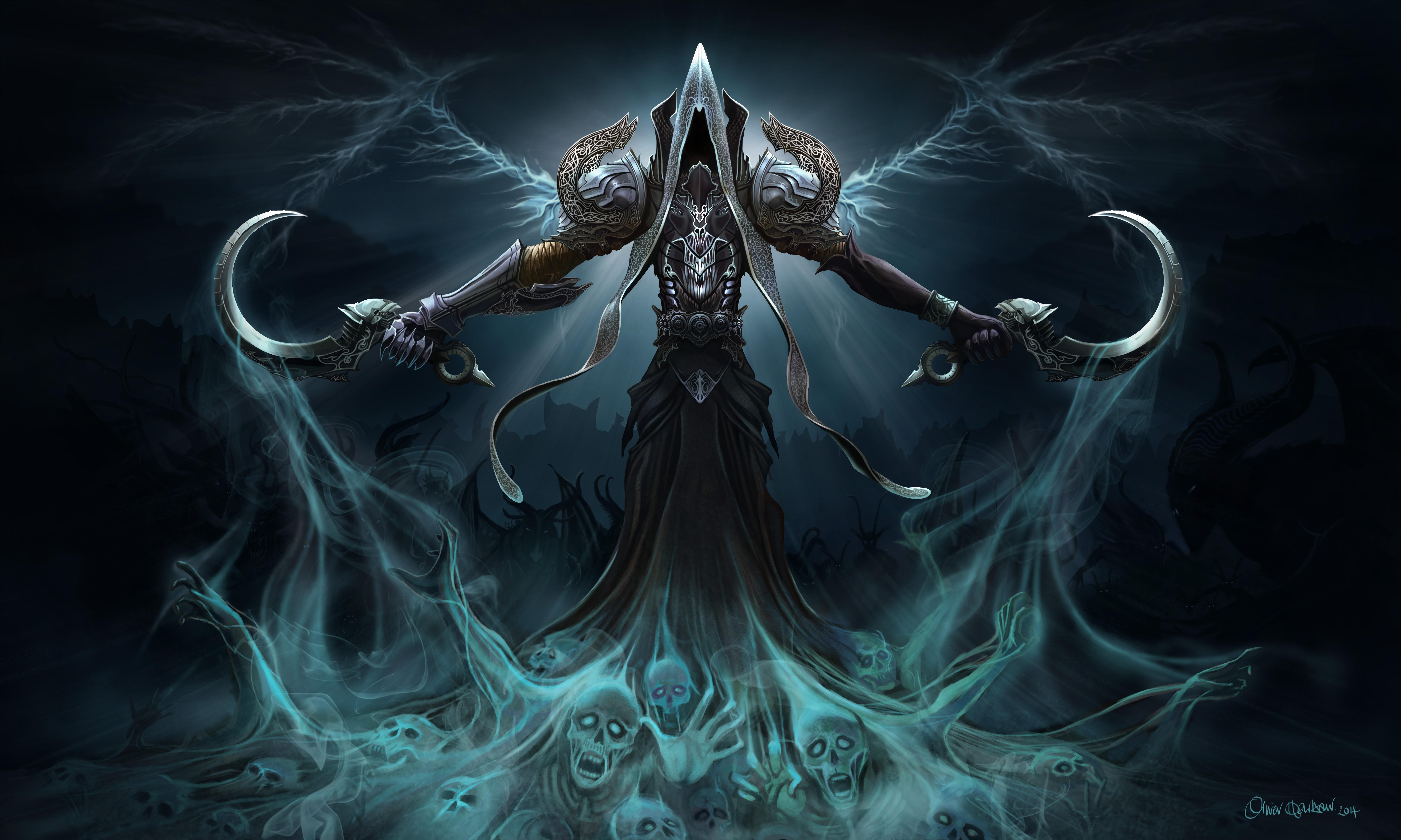фэнтези diablo 3 reaper of souls загрузить