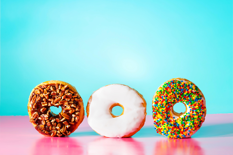 еда пончик food donut бесплатно