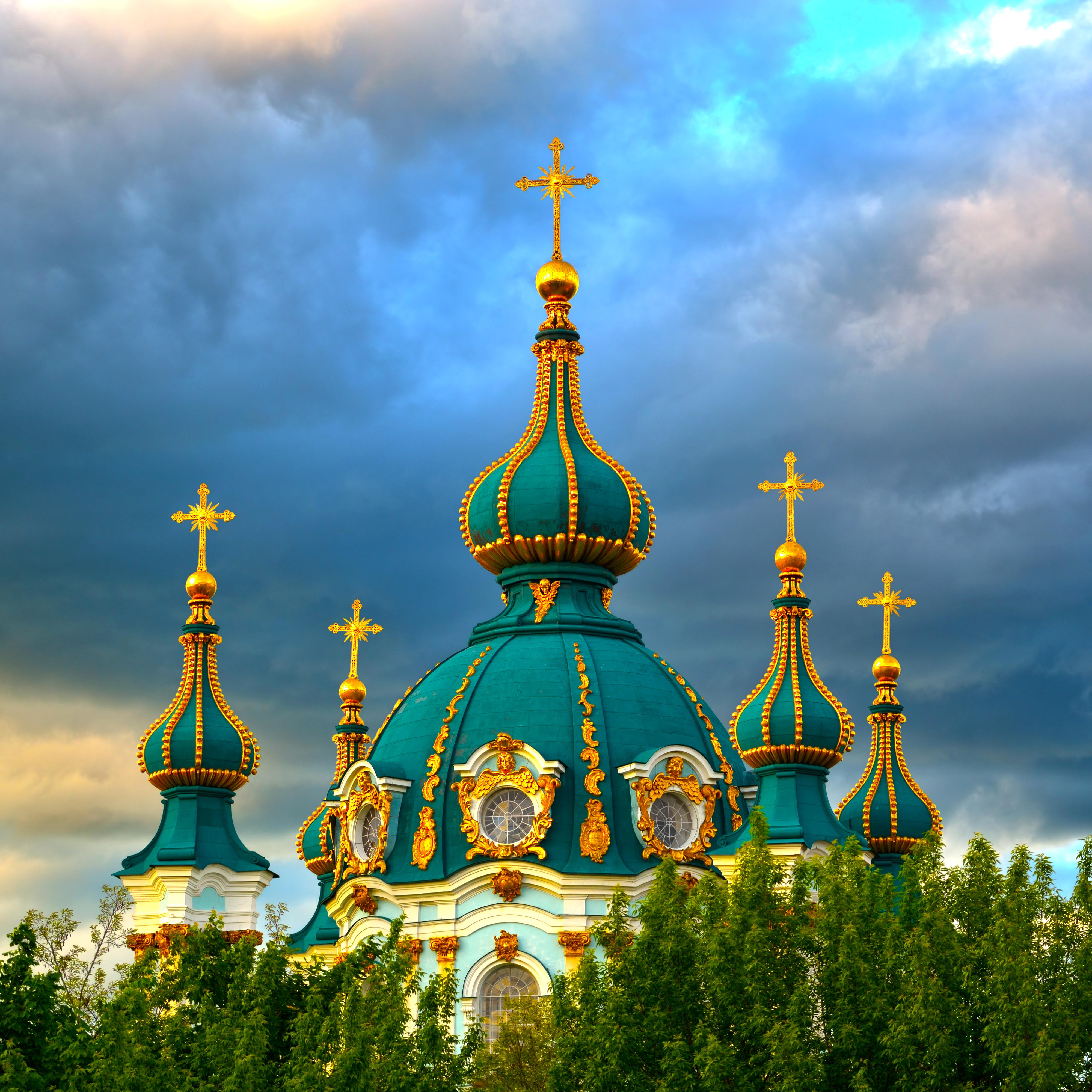 Обои церковь, купол. Города foto 6