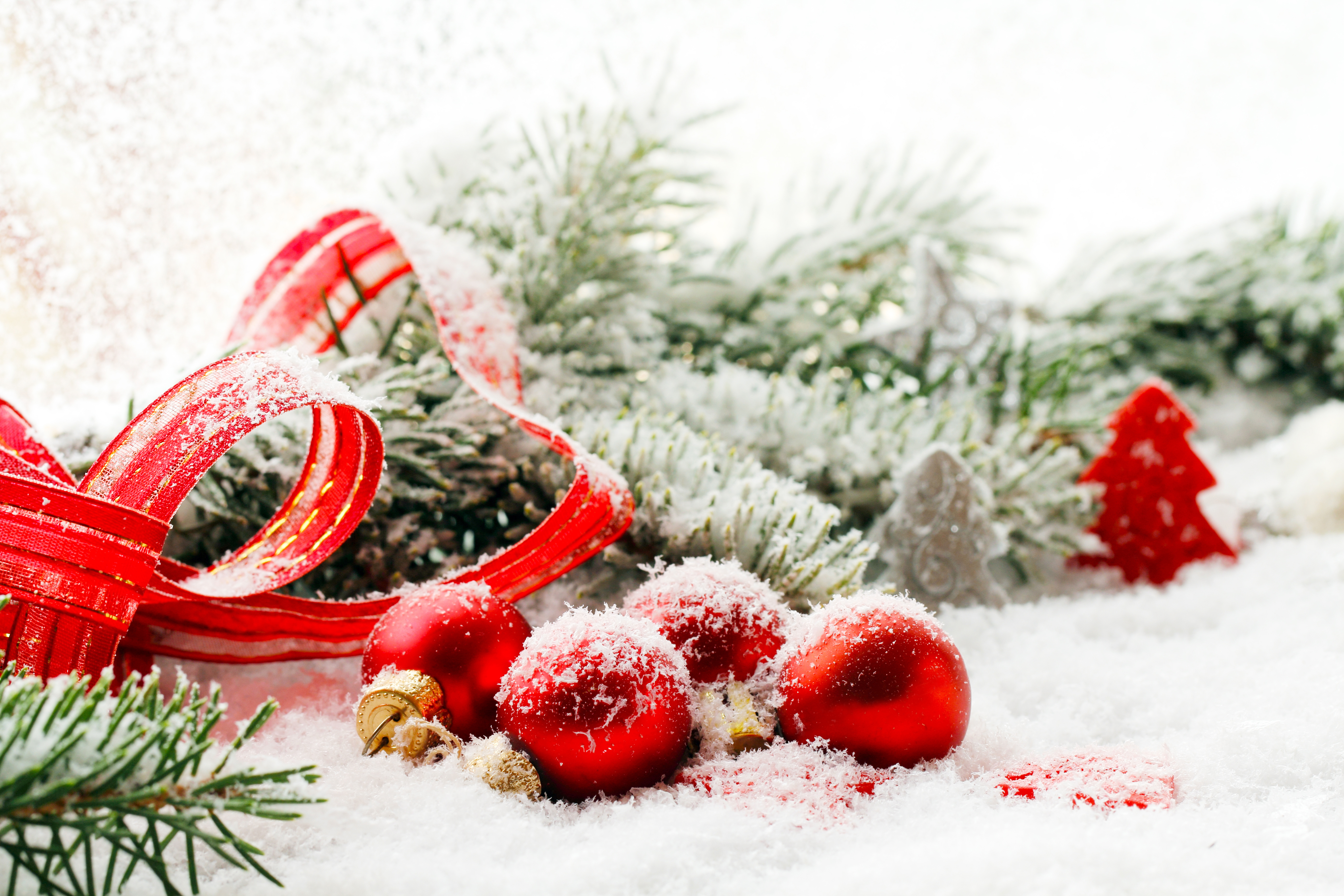 шар новый год красный ель ball new year red spruce без смс