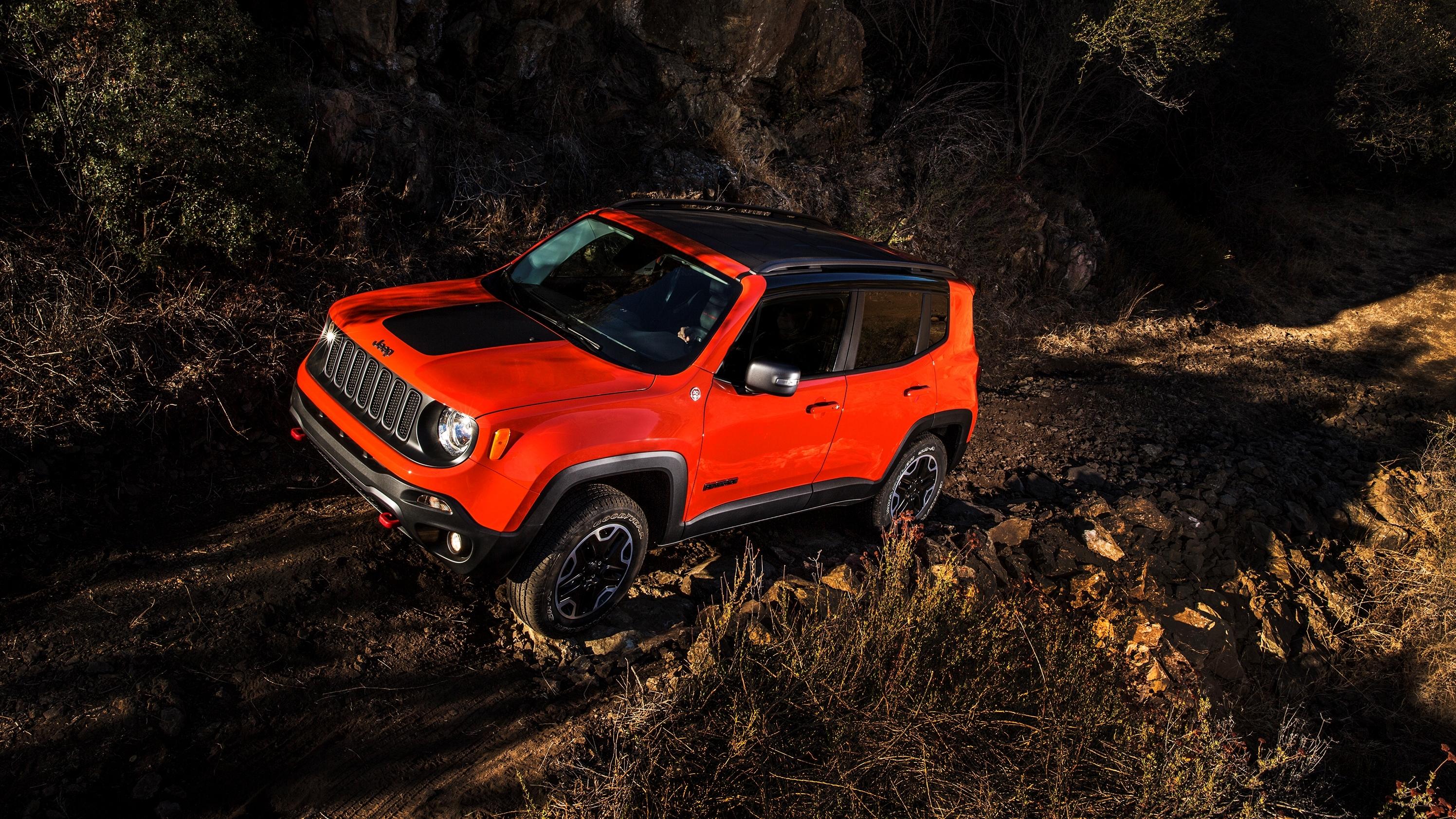 джип синий автомобиль jeep renegade бесплатно