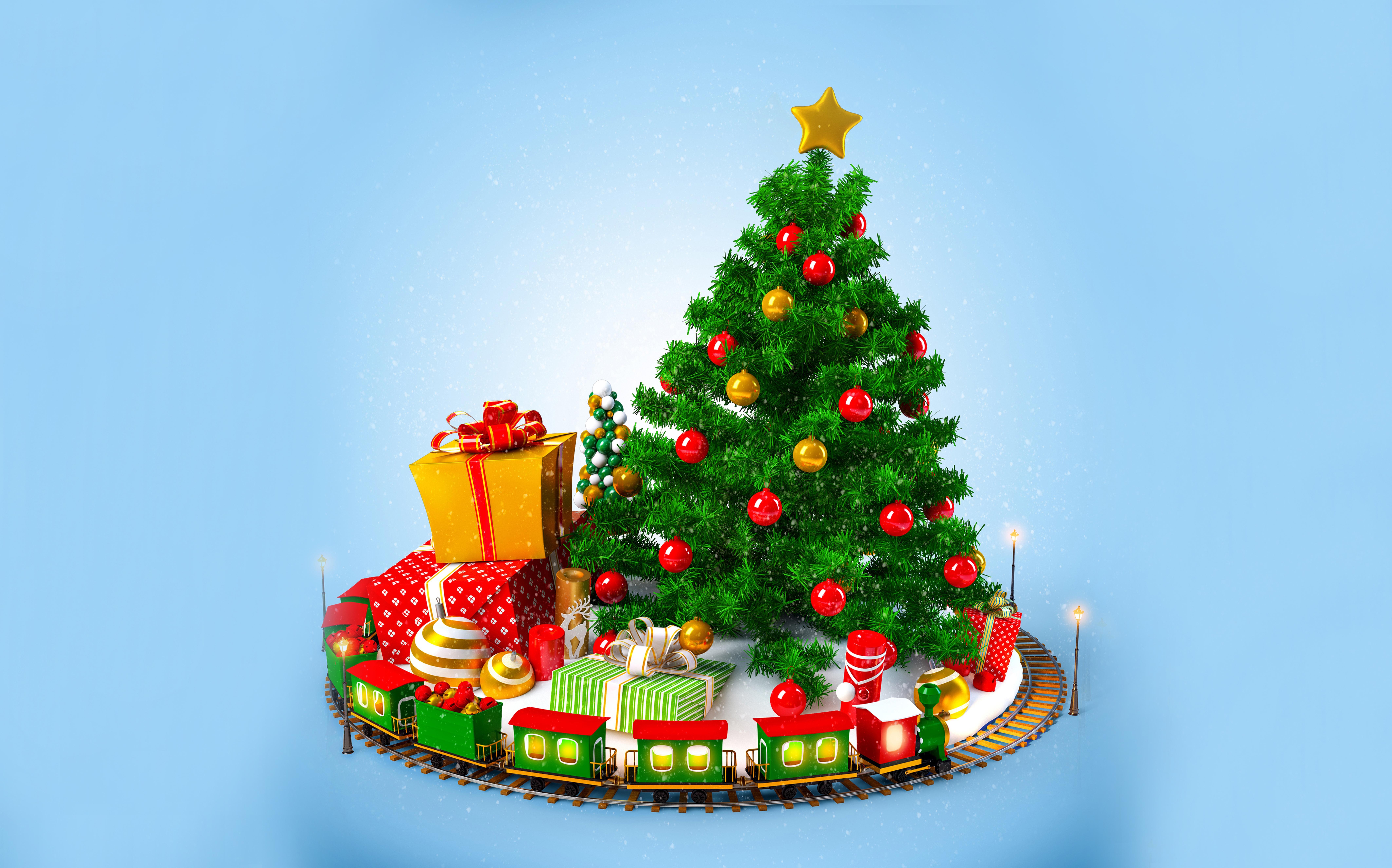 елка игрушки новый год tree toys new year скачать