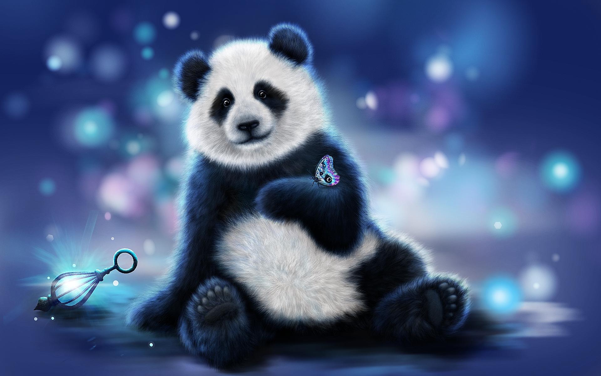 Панда загрузить