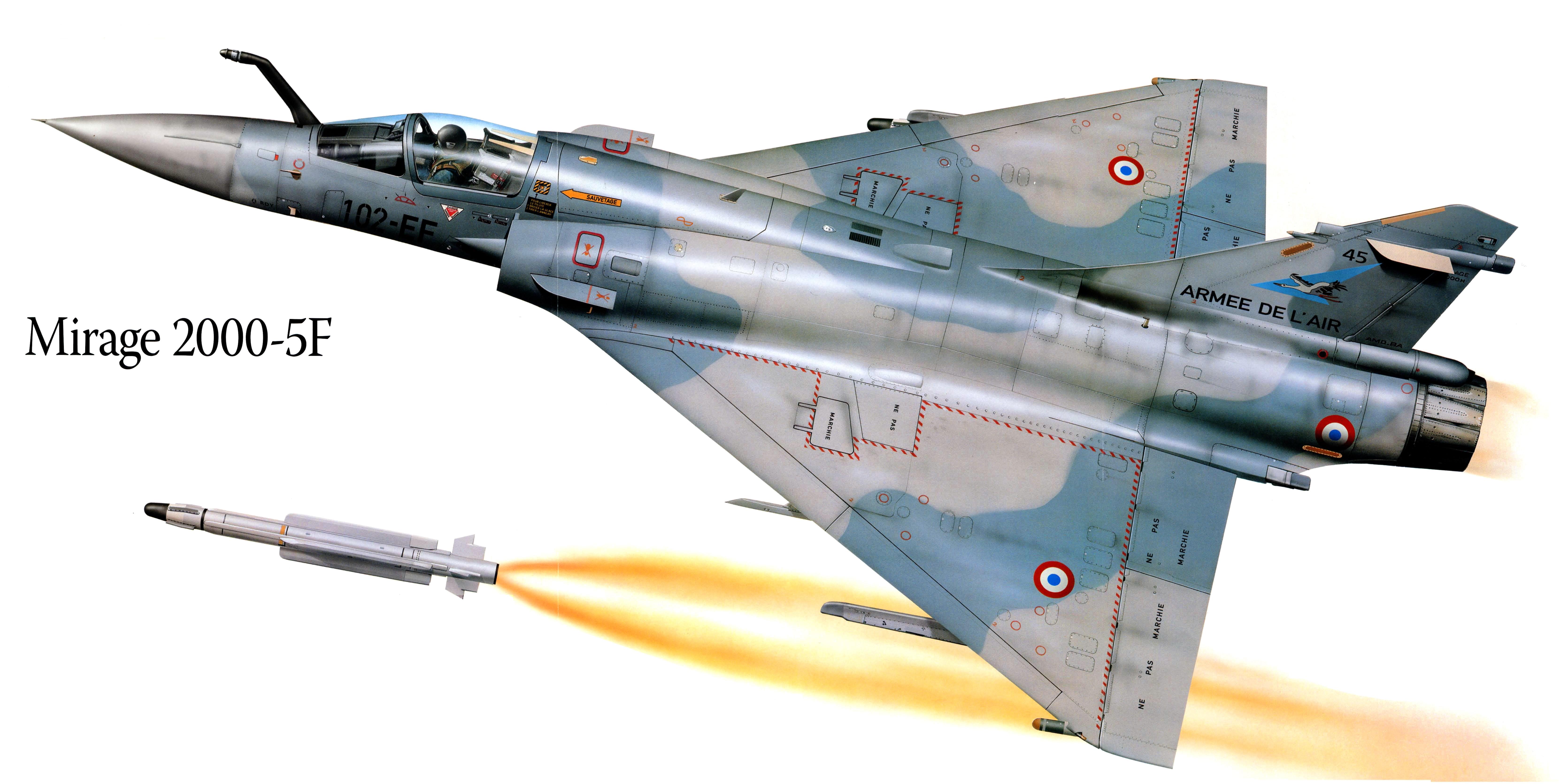 Обои Самолёт, Mirage 2000. Авиация foto 11