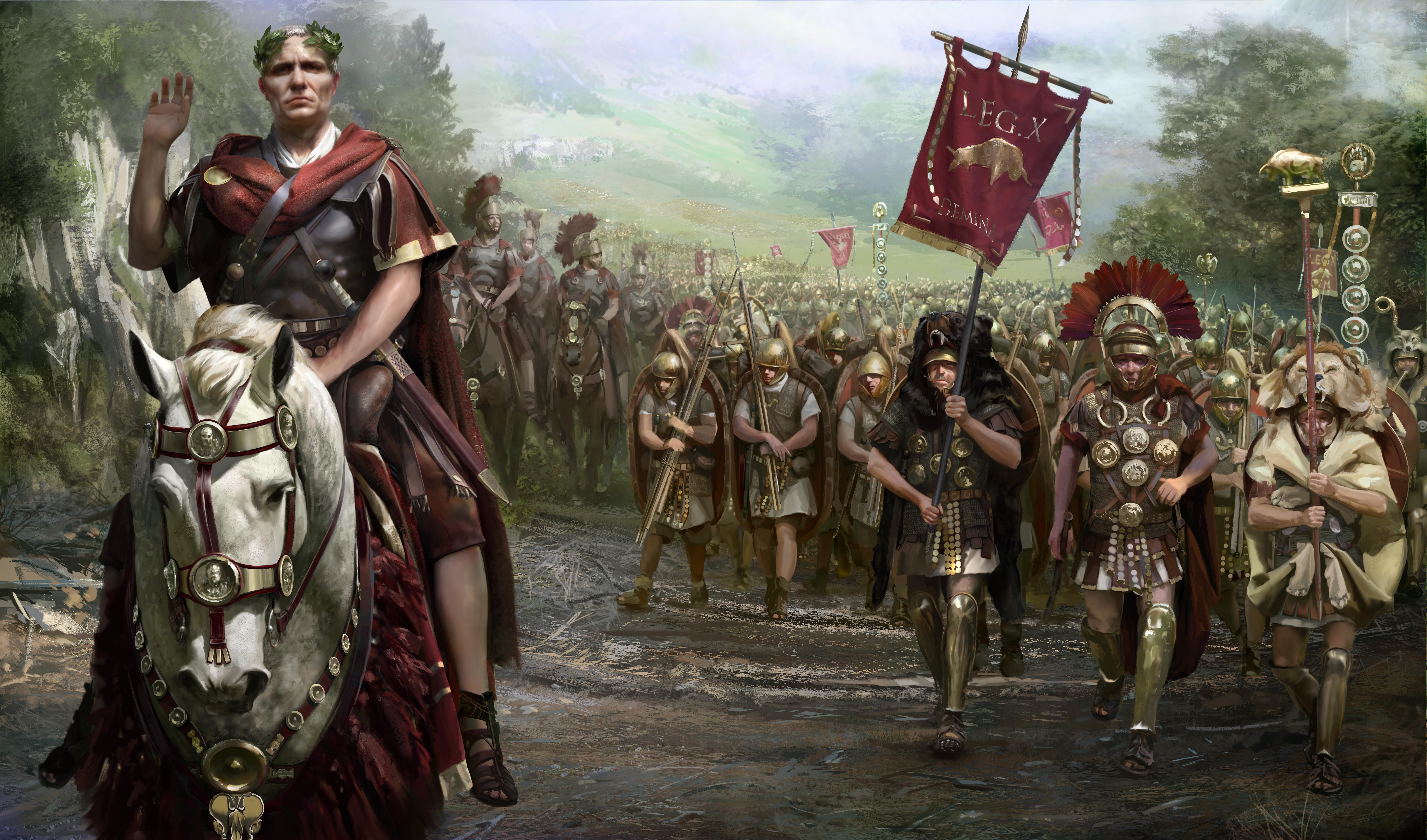 Rome II total war бесплатно