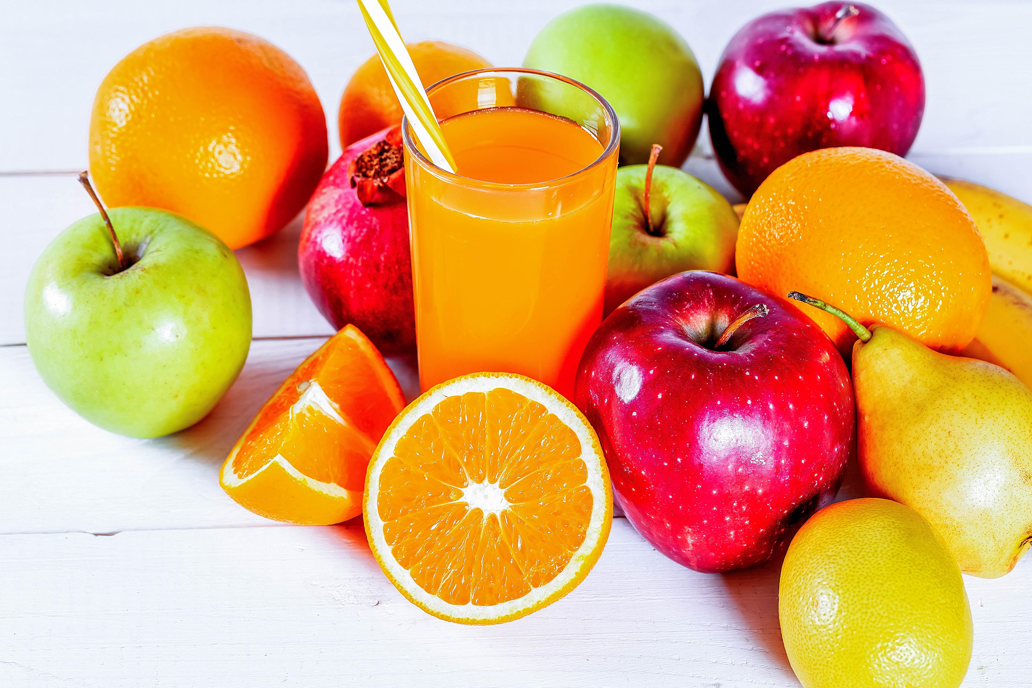Апельсиновая или яблочная диета