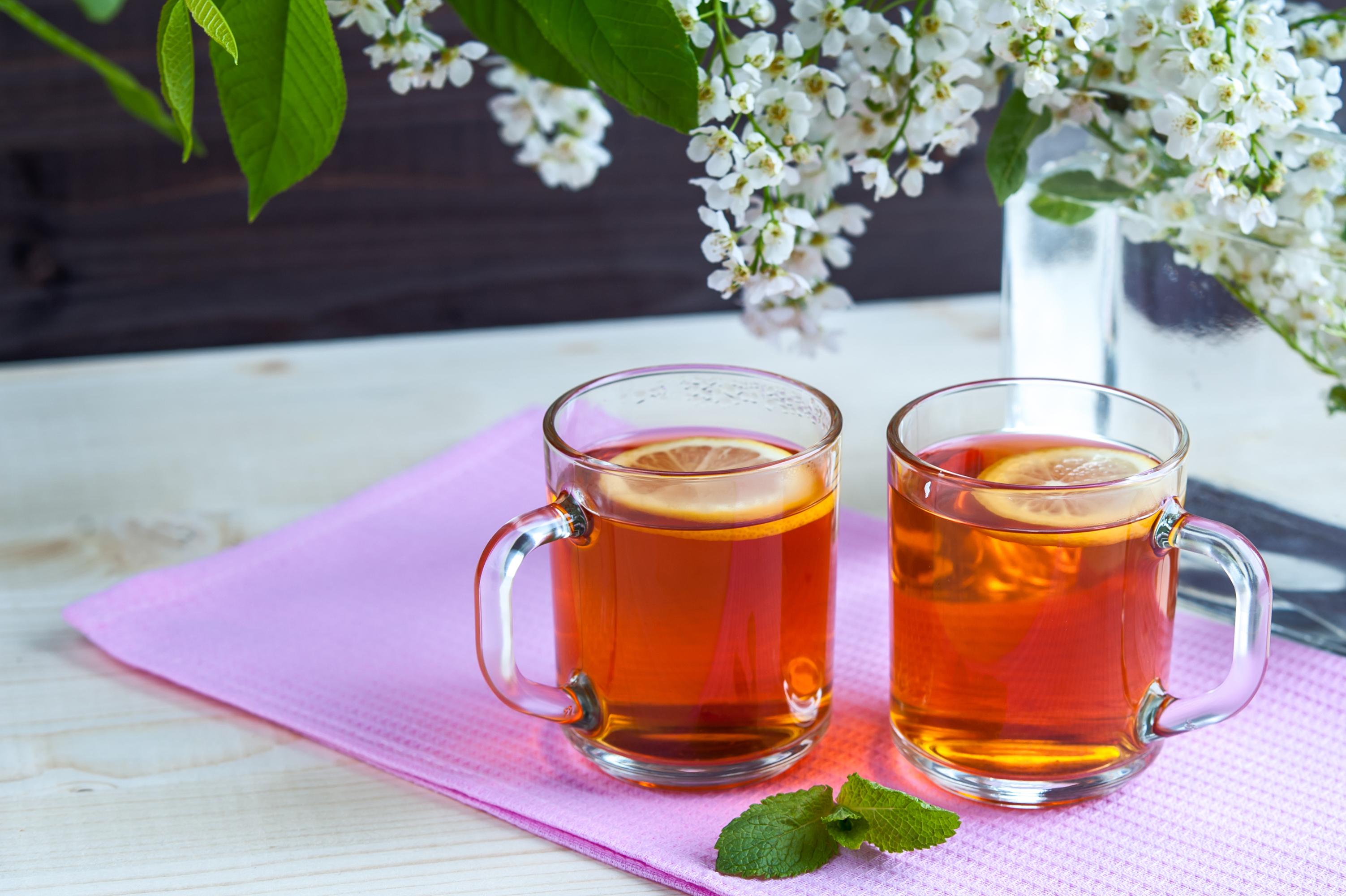 Картинка 2 Чай Пища Чашка 3005x2000 две два Двое вдвоем Еда чашке Продукты питания