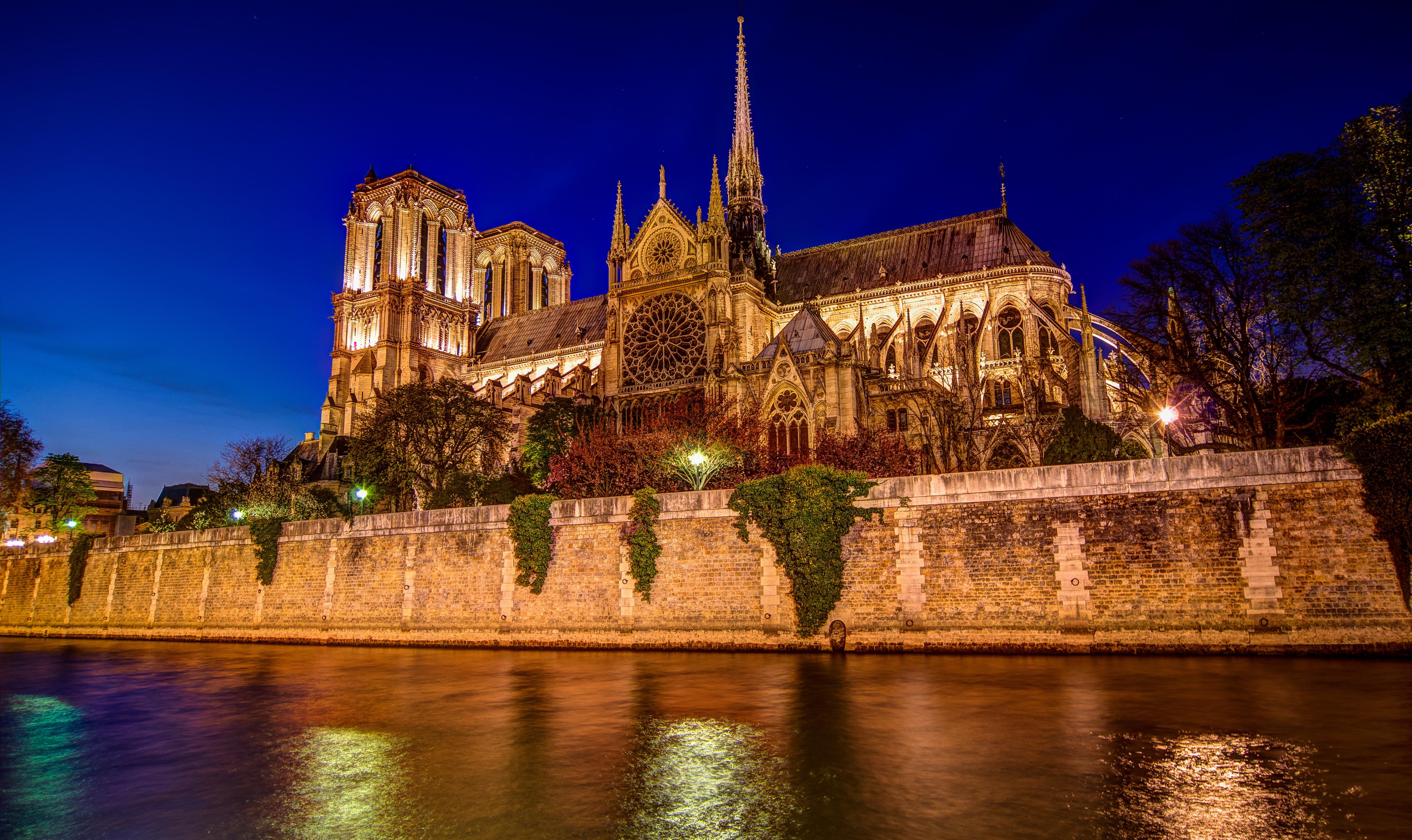Нотр-Дам де Пари собор Париж без смс