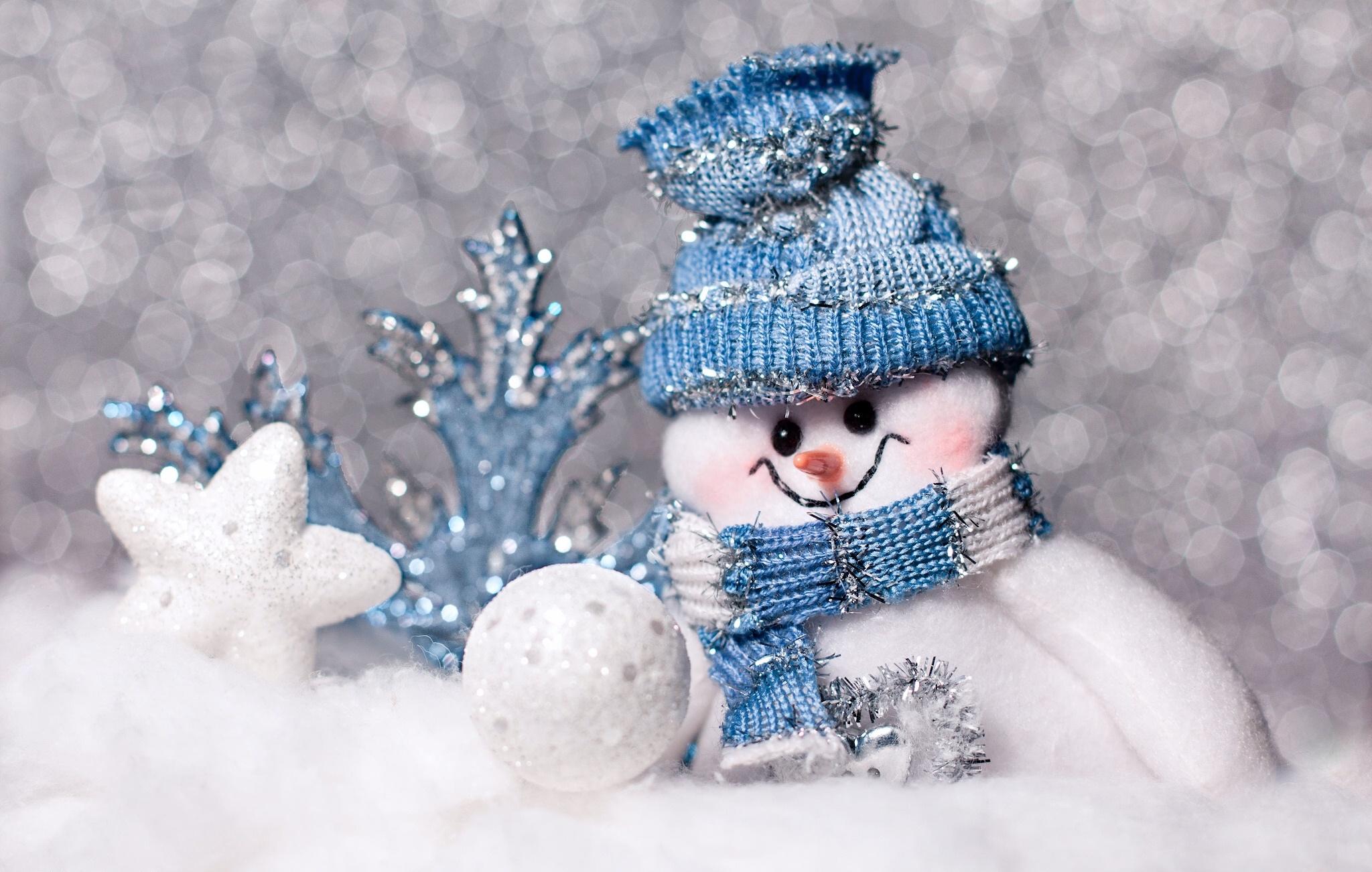Снеговик зима шарф скачать