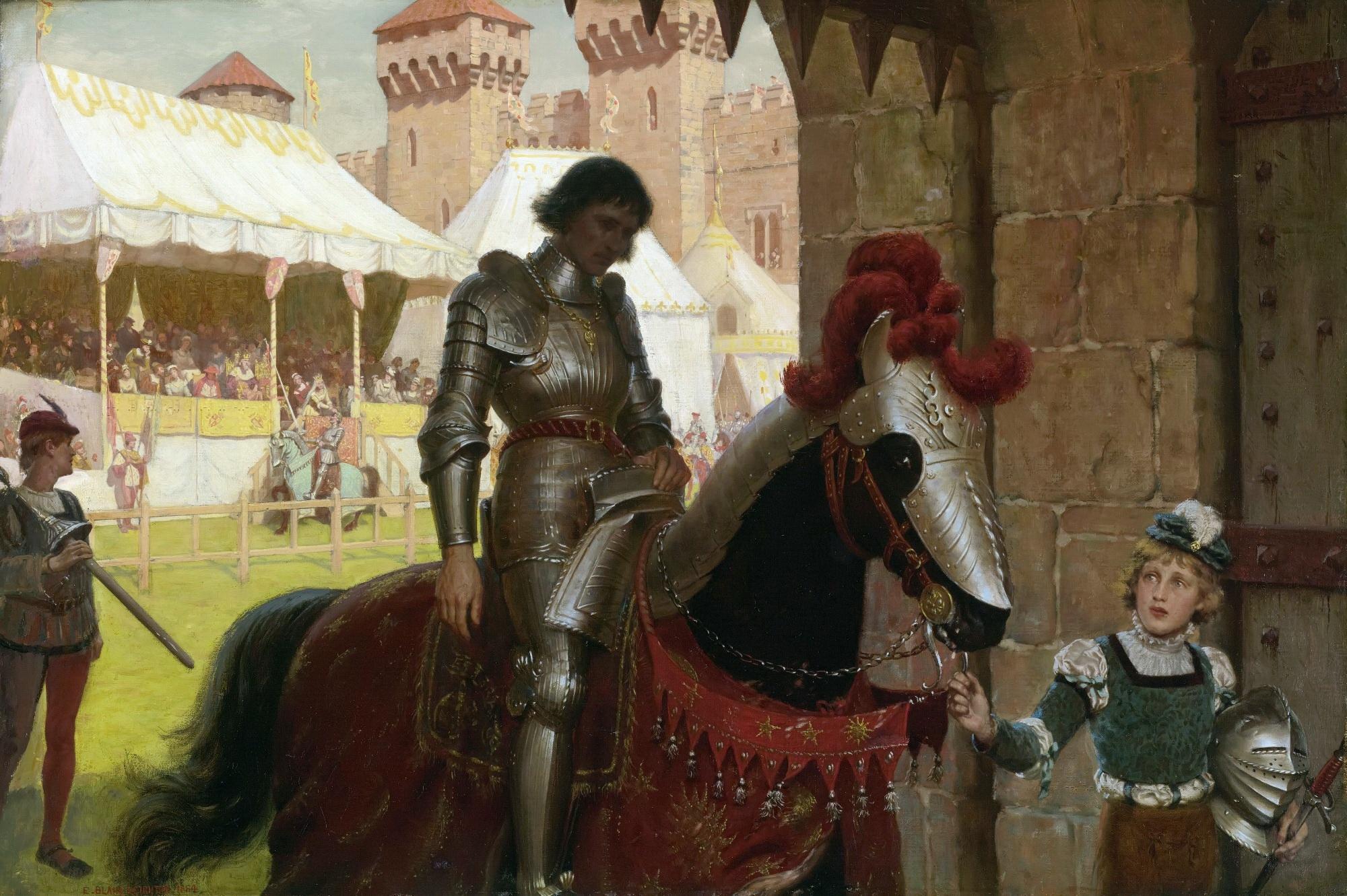 Обои доспехи, Рыцарь, лошадь. Разное foto 13