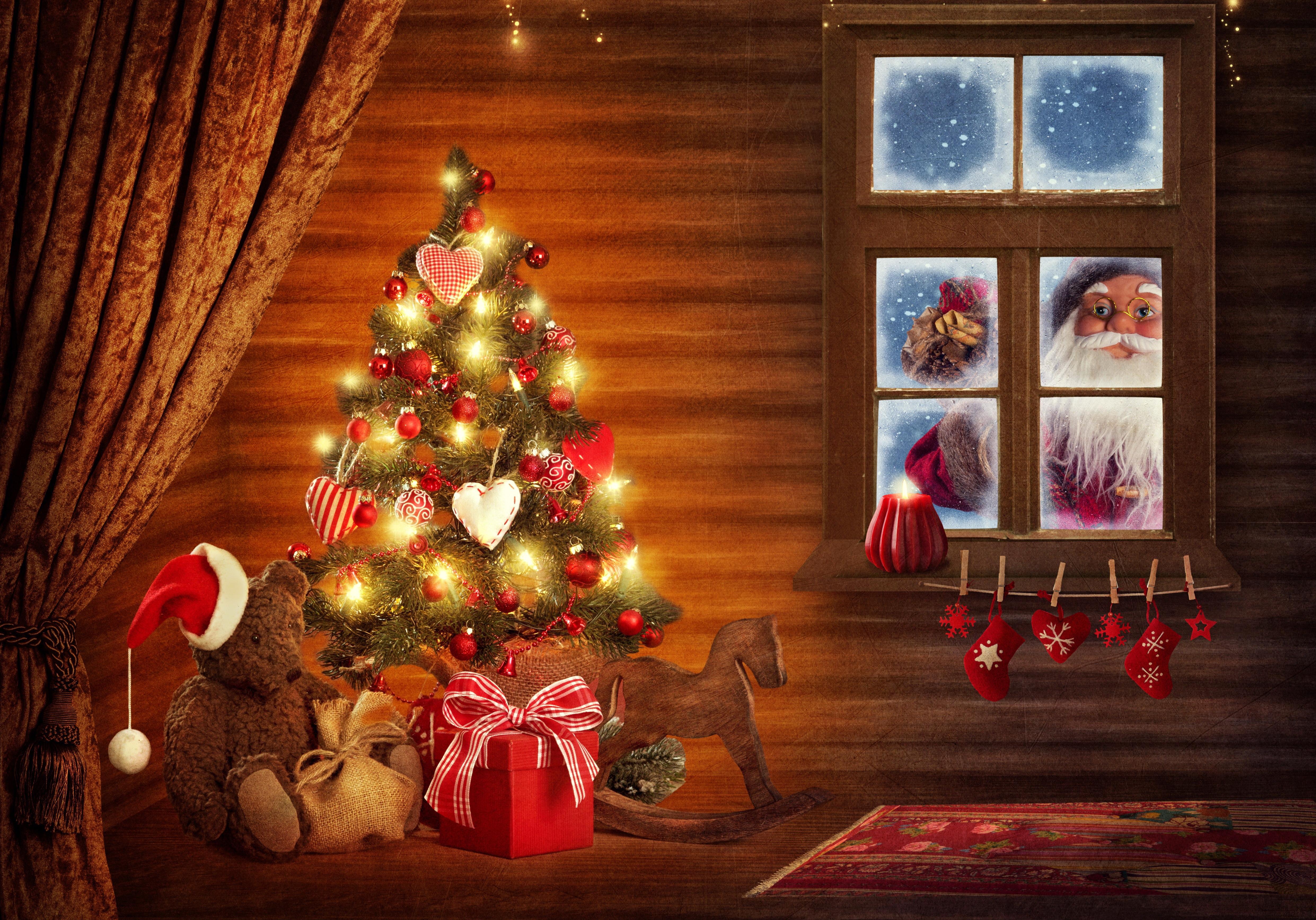 Новогодние врата бесплатно