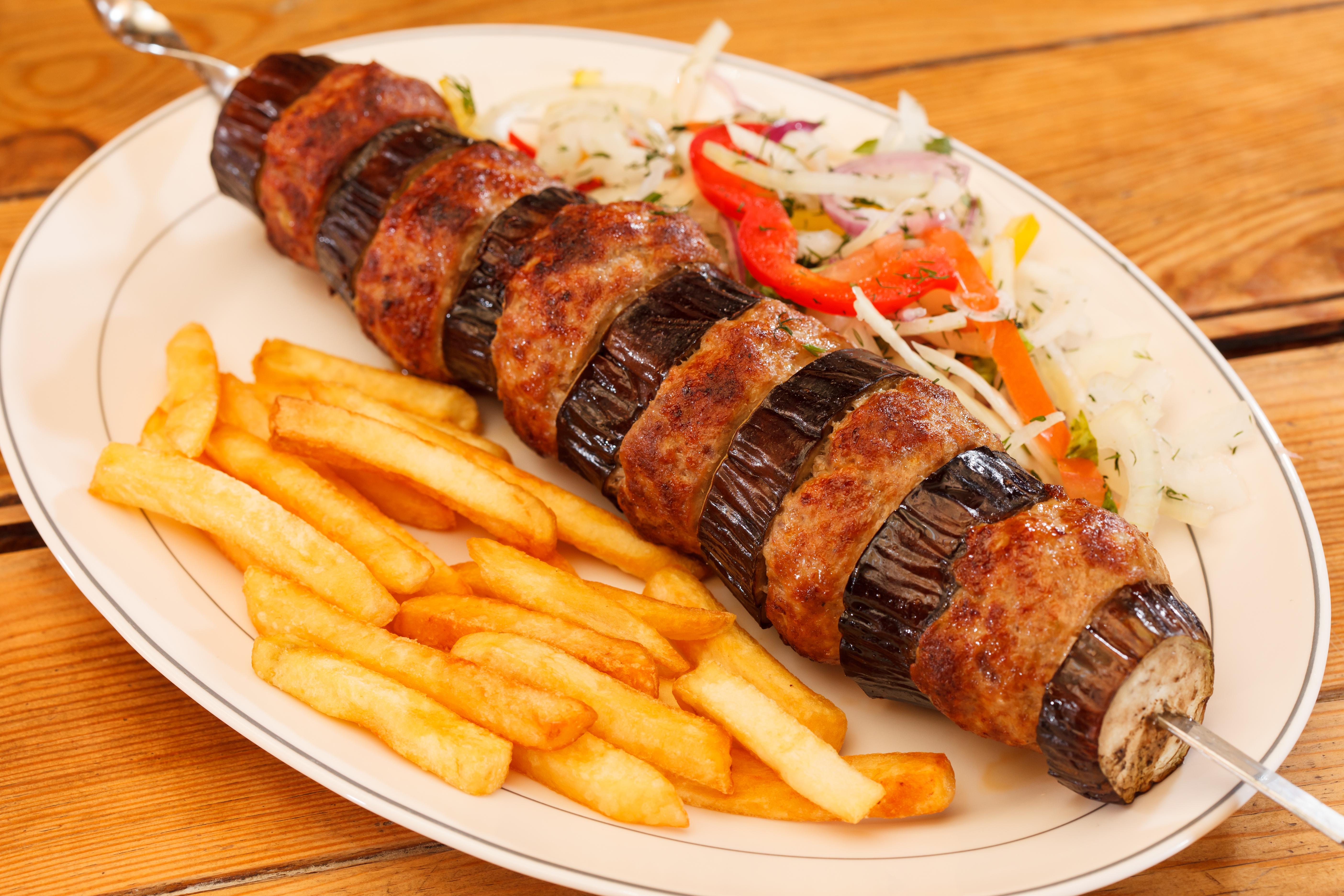 Картинки Картофель фри Еда Овощи Тарелка 5616x3744 Пища тарелке Продукты питания