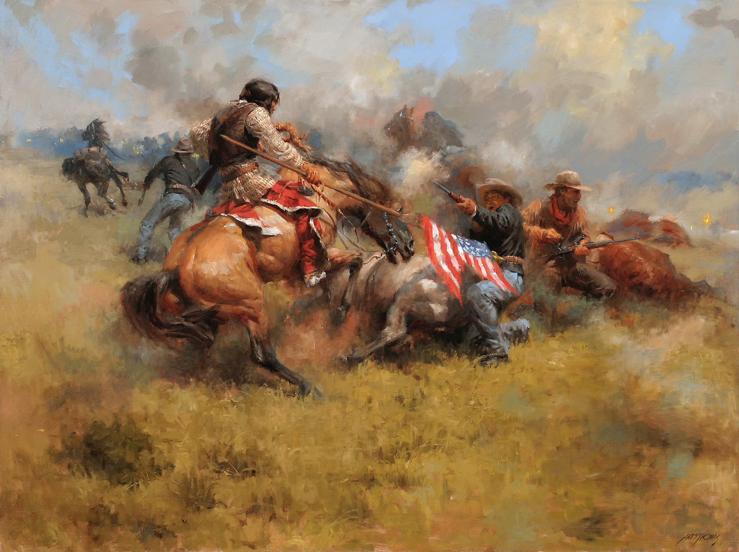 the misconception of the battle at little bighorn in ten myths of the little bighorn an article by g Ny 10110 library of congress cataloging-in-publication data carroll the making of the fittest:  in this case a little piece of  drives ten miles to.