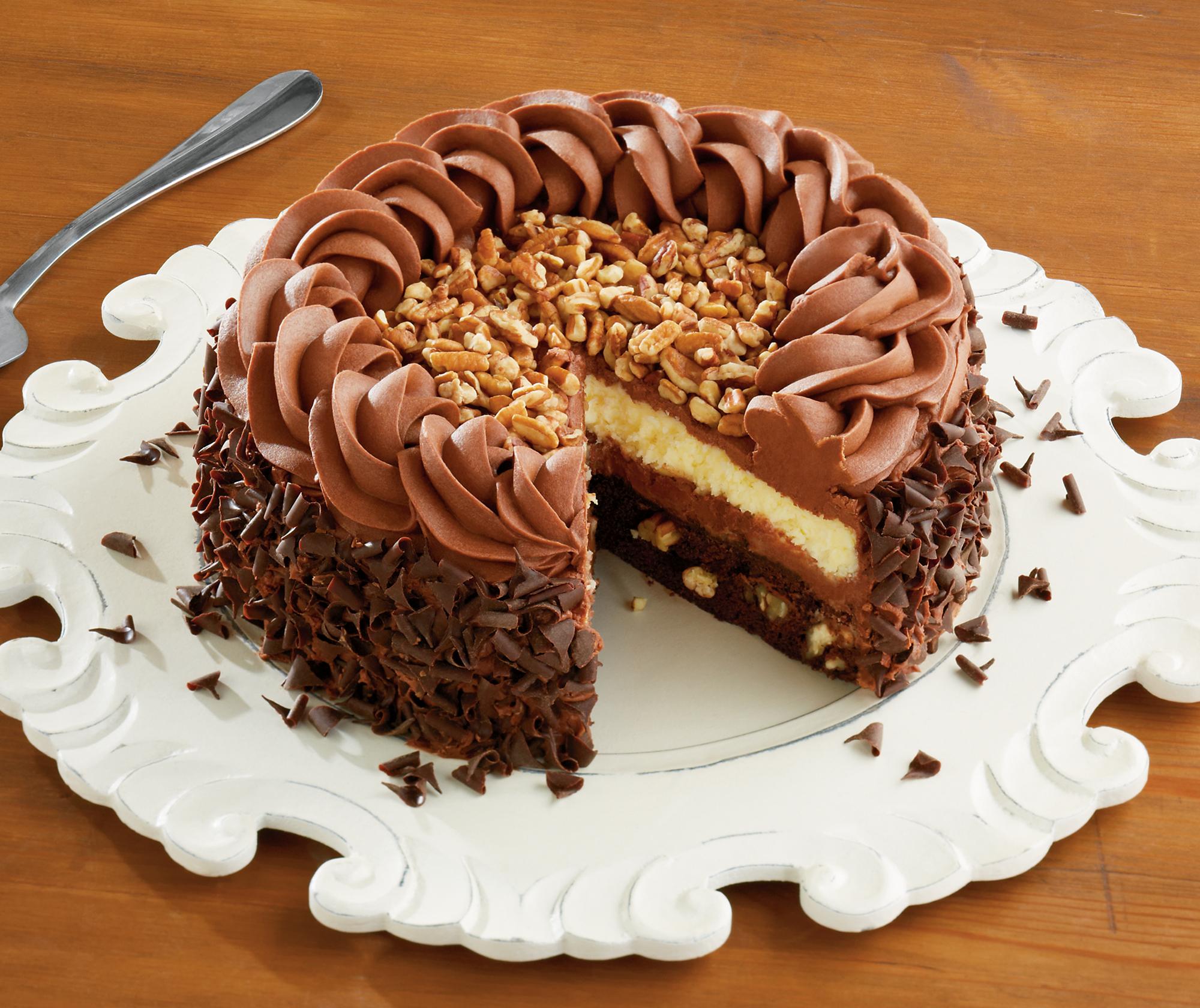 торт с шоколадом без смс