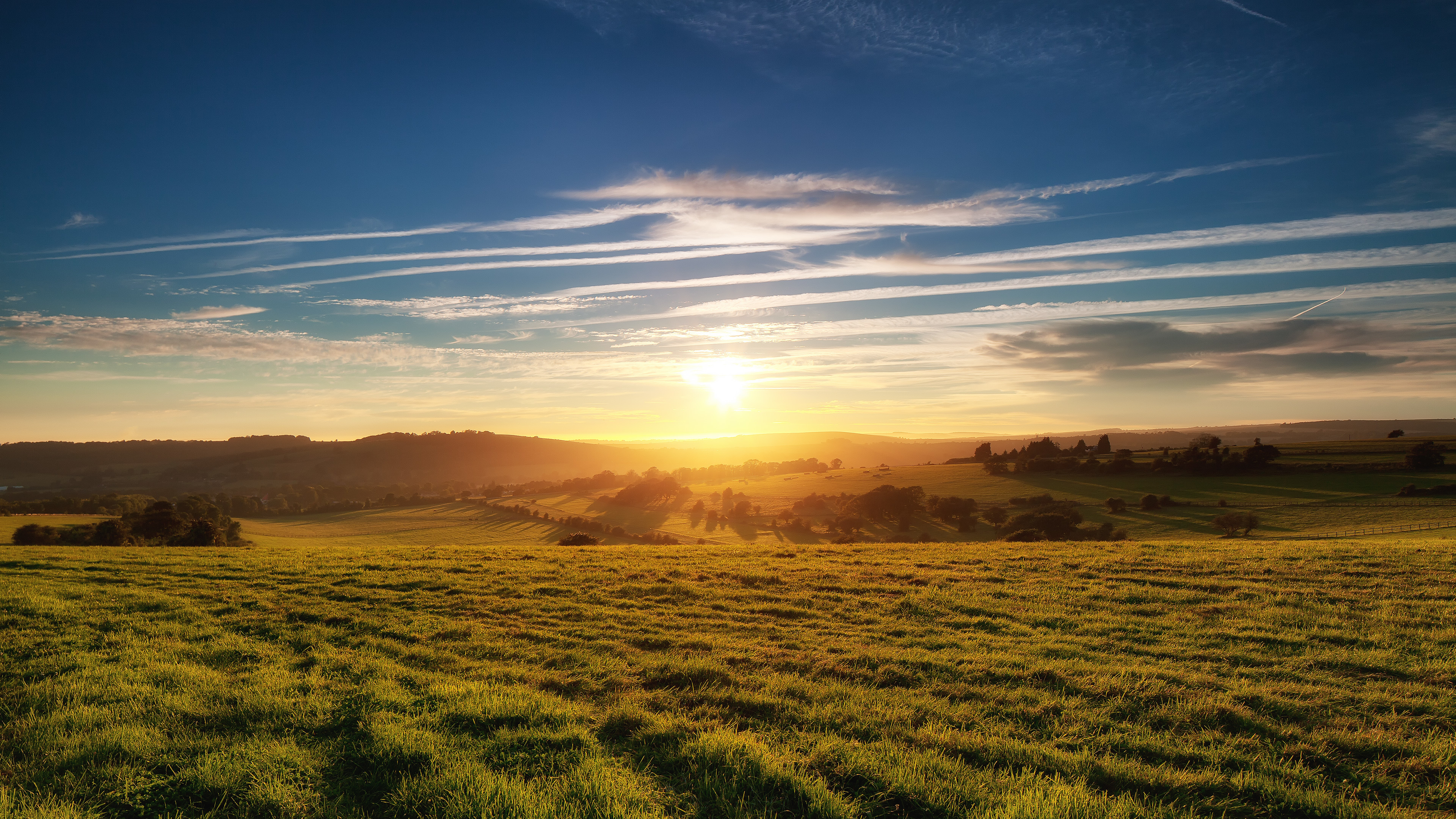 a sunrise on the veld short
