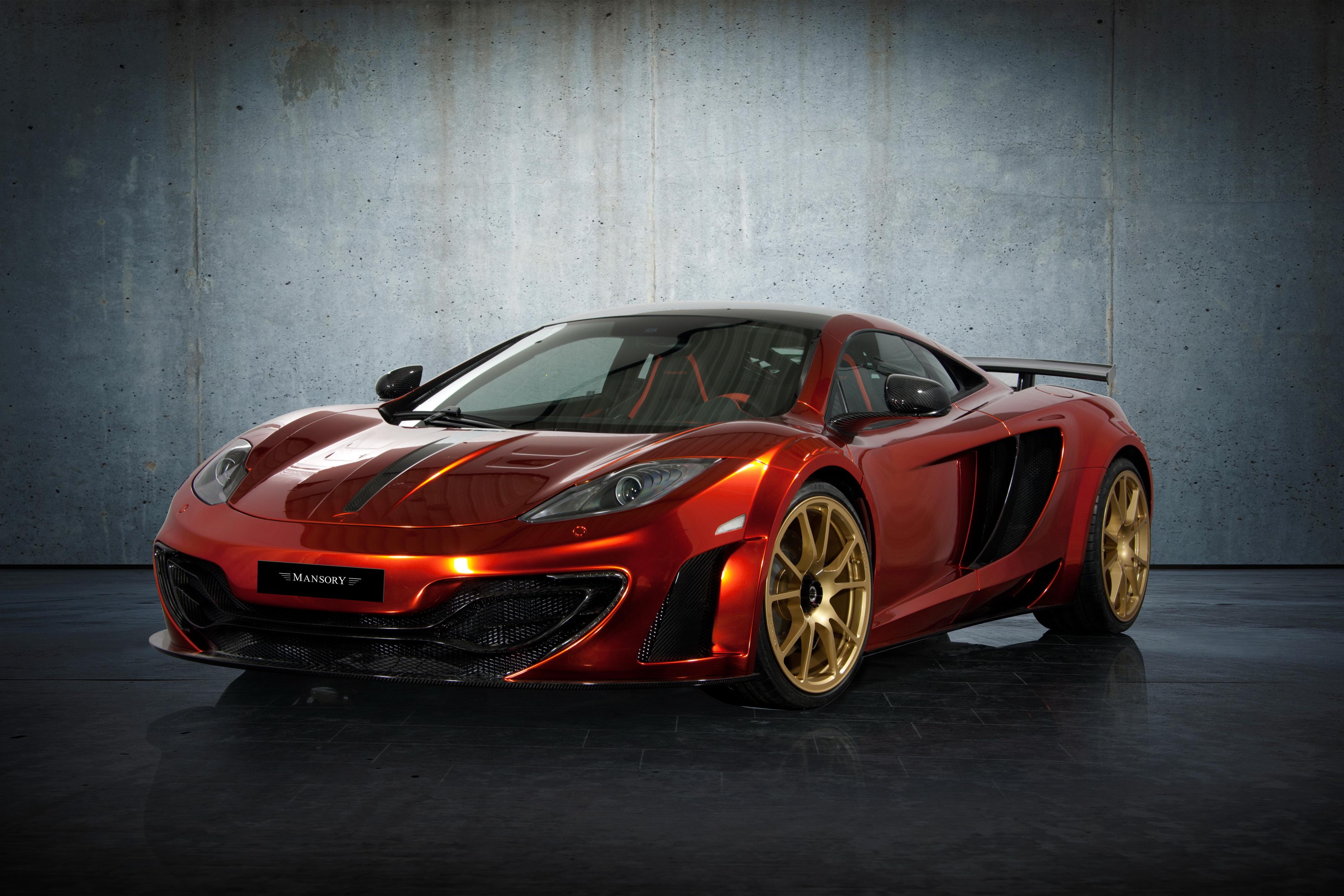 спортивный автомобиль красный mclaren rot без смс