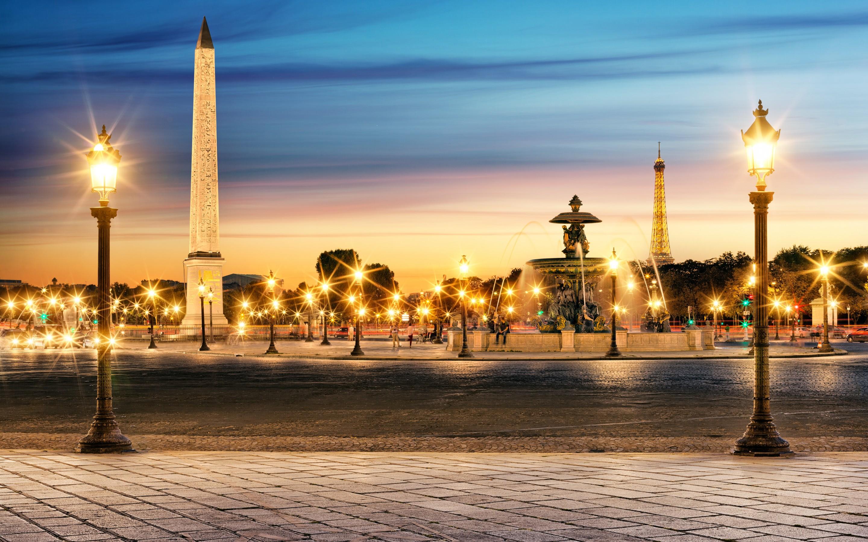 Aerial View of Place de lrEtoile, Paris, France скачать