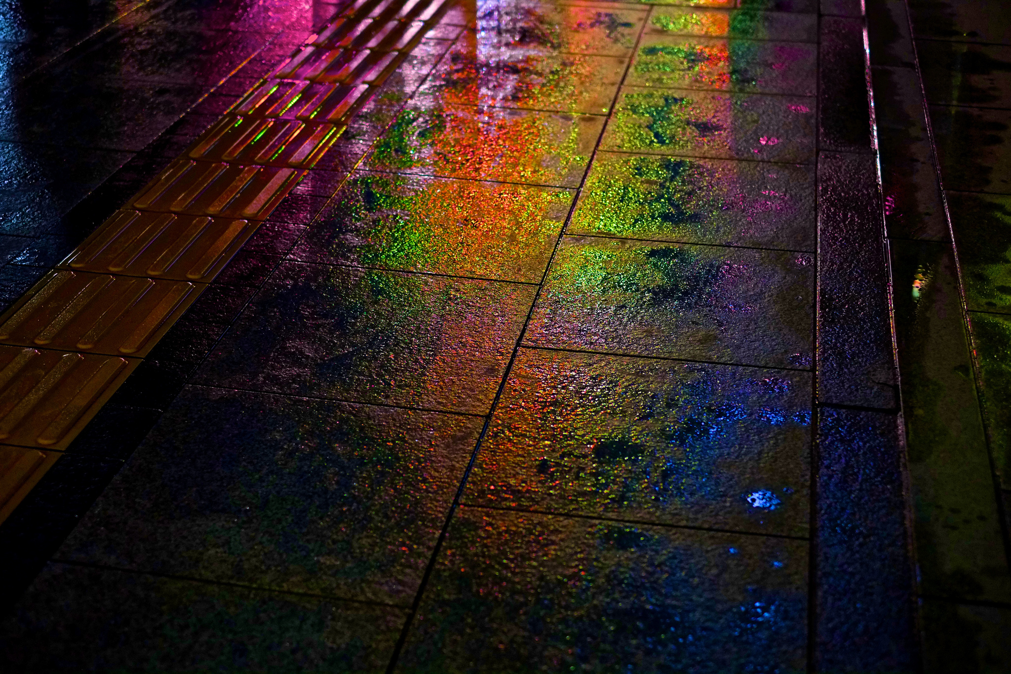 Радежный свет на асфальте без смс