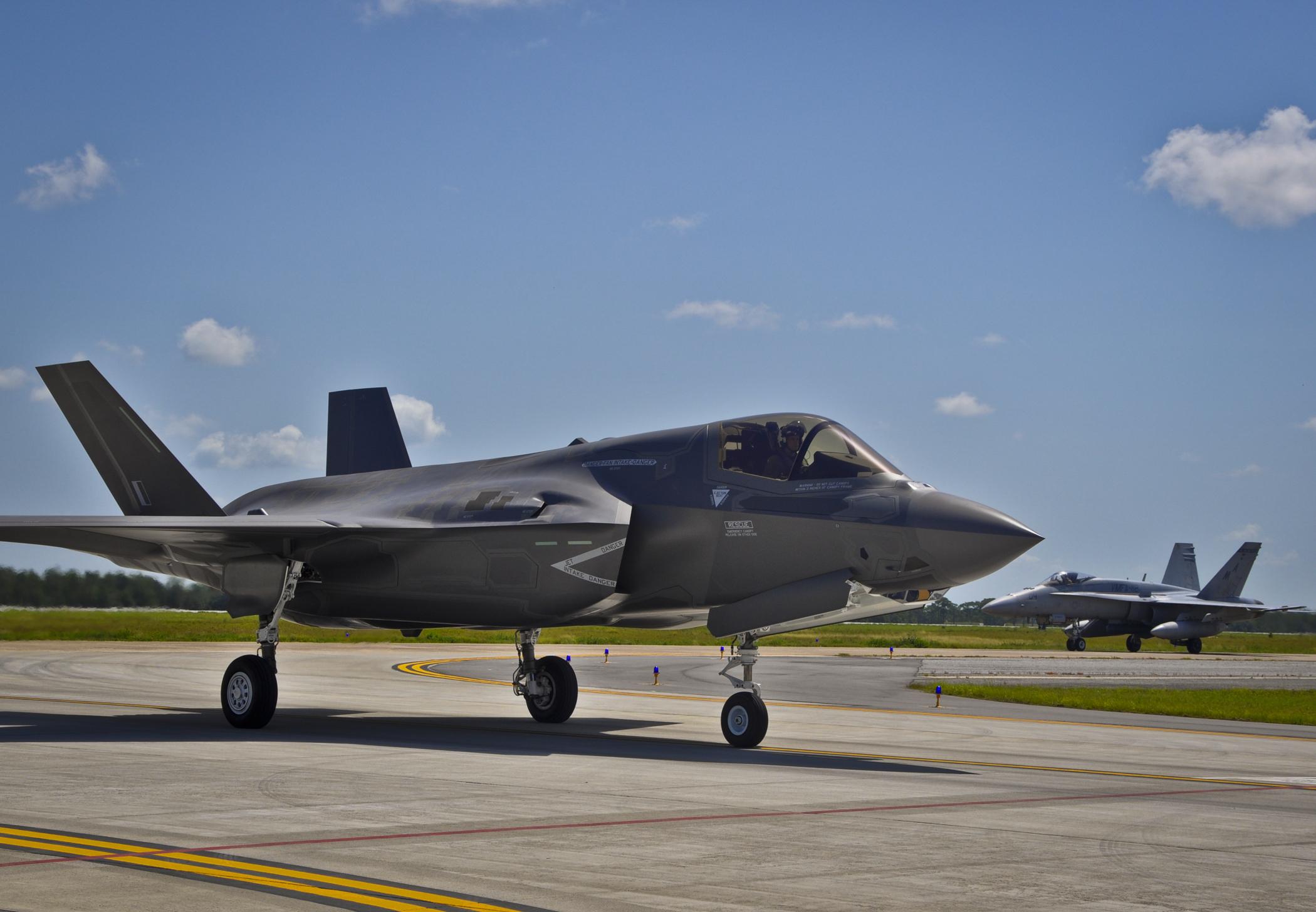 Истребитель F-35 загрузить