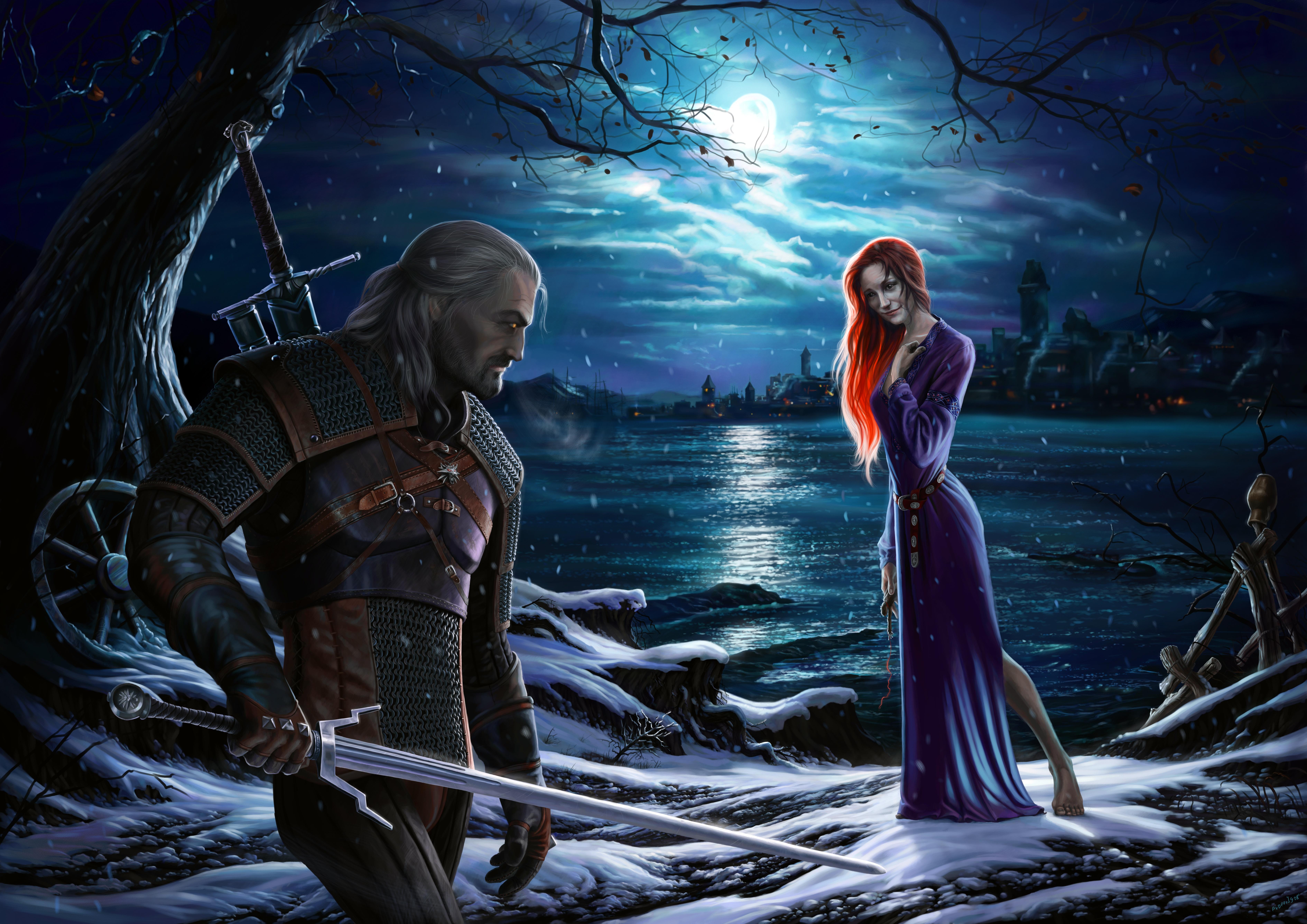 Скачать Обои Ведьмак