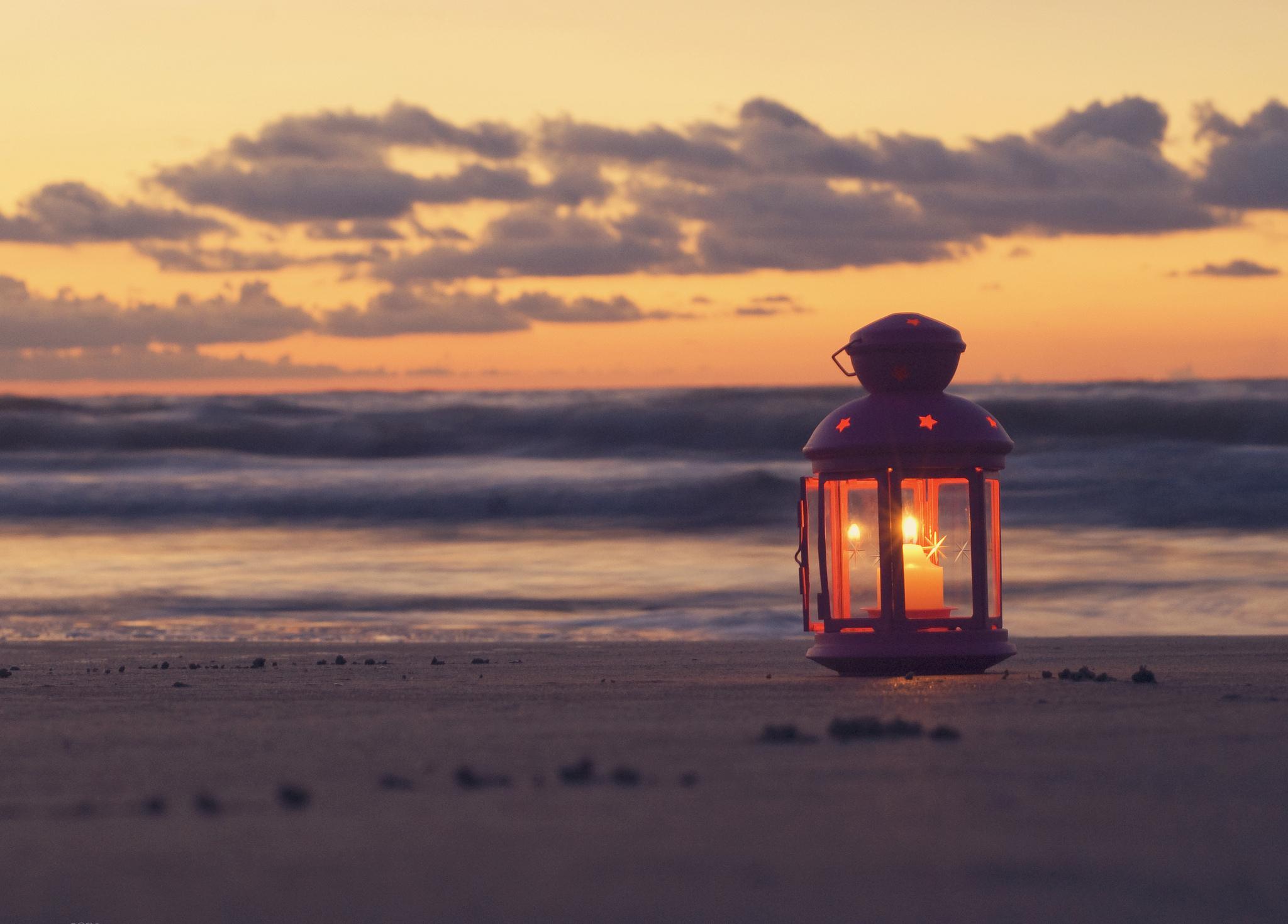 Вечер на берегу загрузить