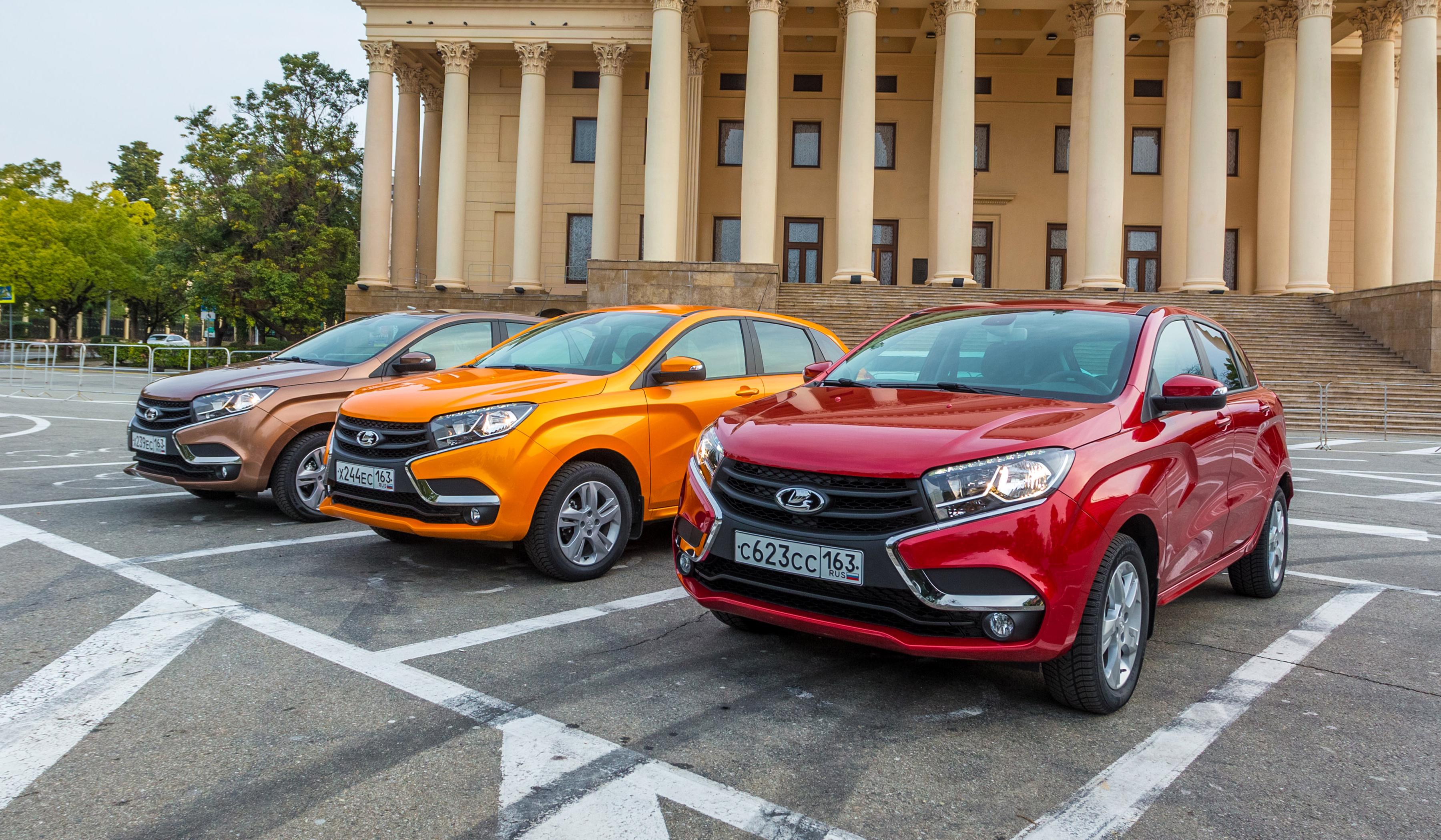 Автомобили марки LADA теперь можно заказать онлайн, и с доставкой на дом