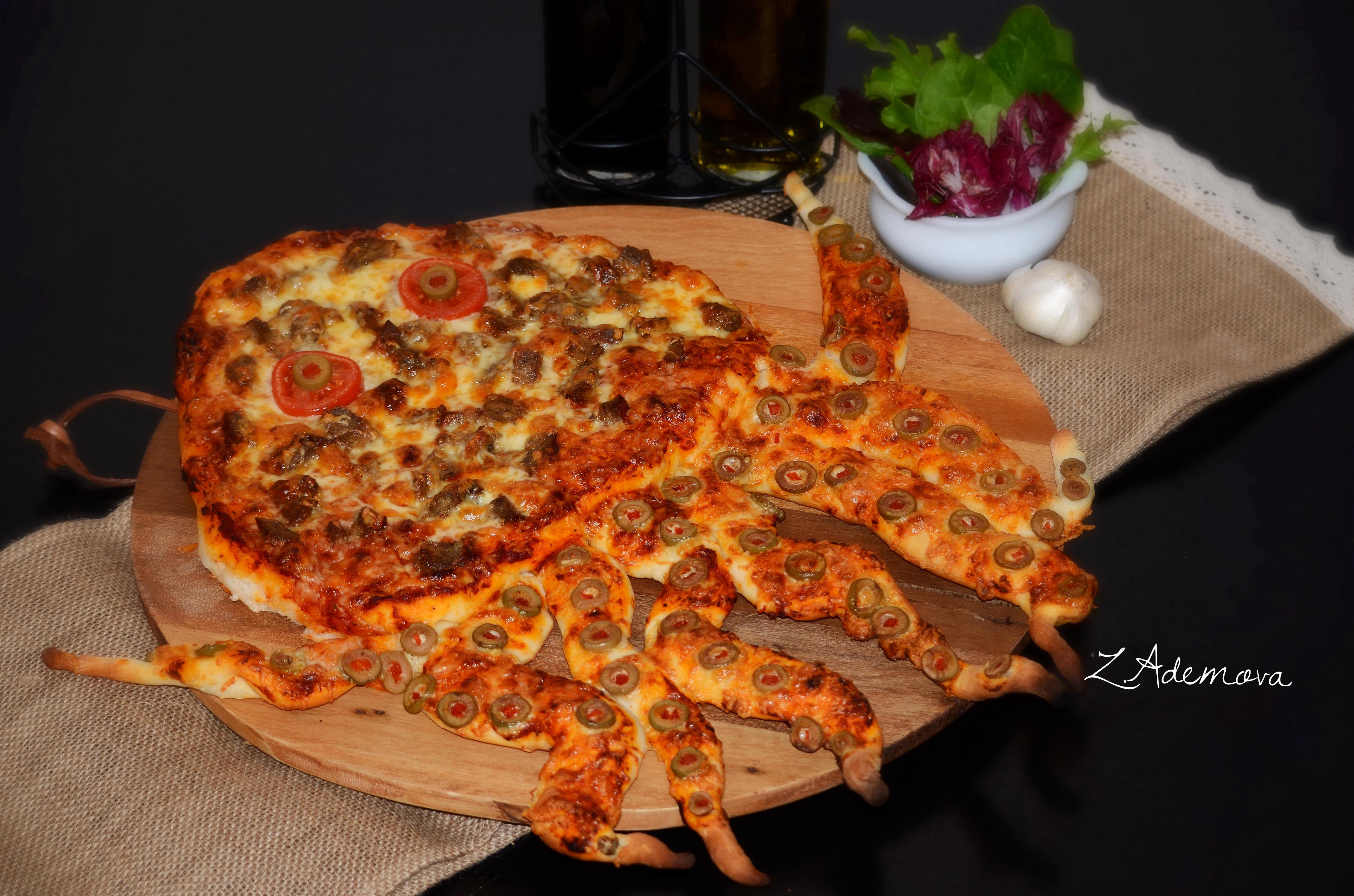 Фото Еда Пицца Быстрое питание Базилик душистый Пища Продукты питания Фастфуд
