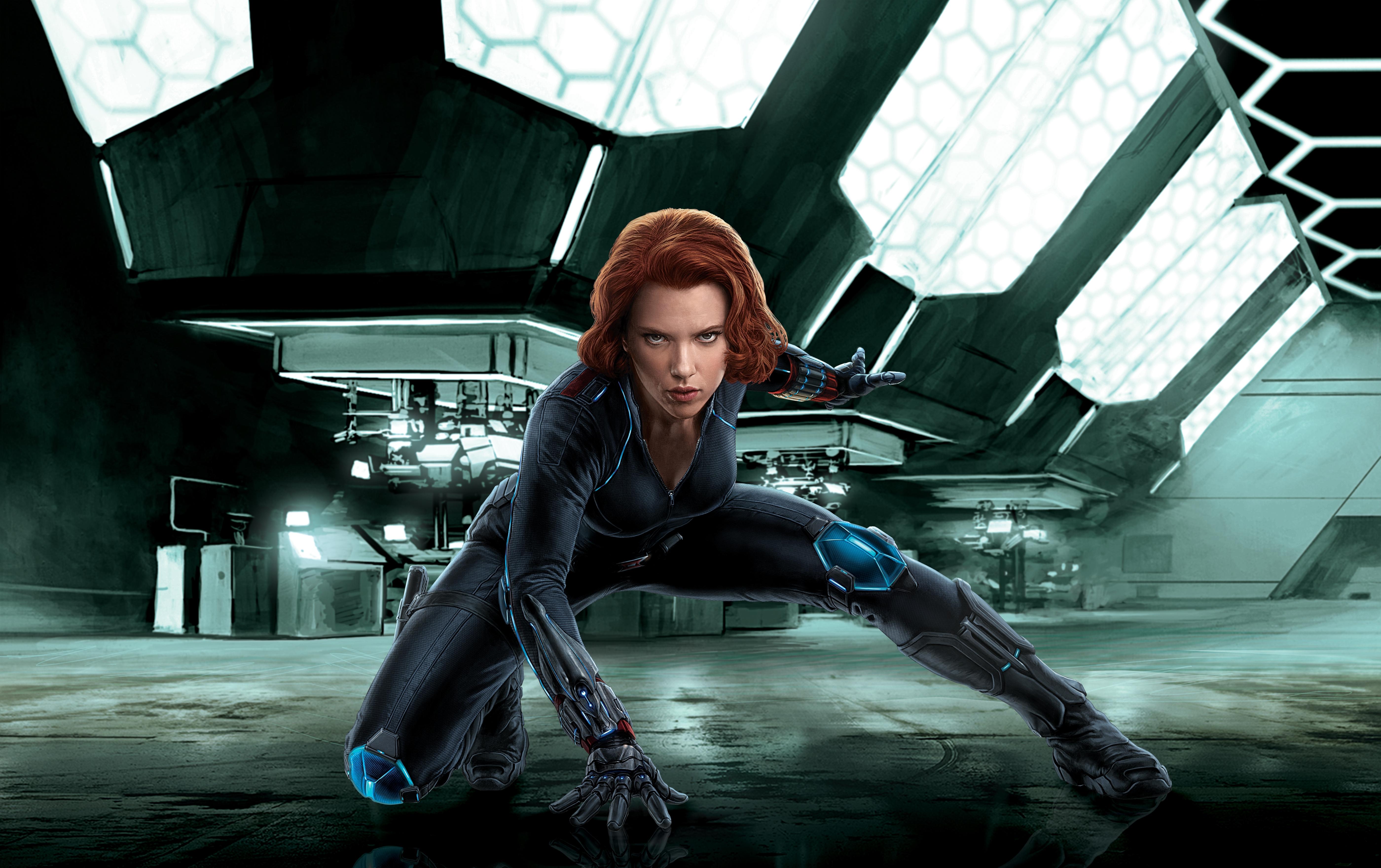 Black Widow is het alter ego van twee fictieve superspionnen uit de strips van Marvel Comics De eerste en meest bekende is Natalia Romanova alias Natasha Romanoff