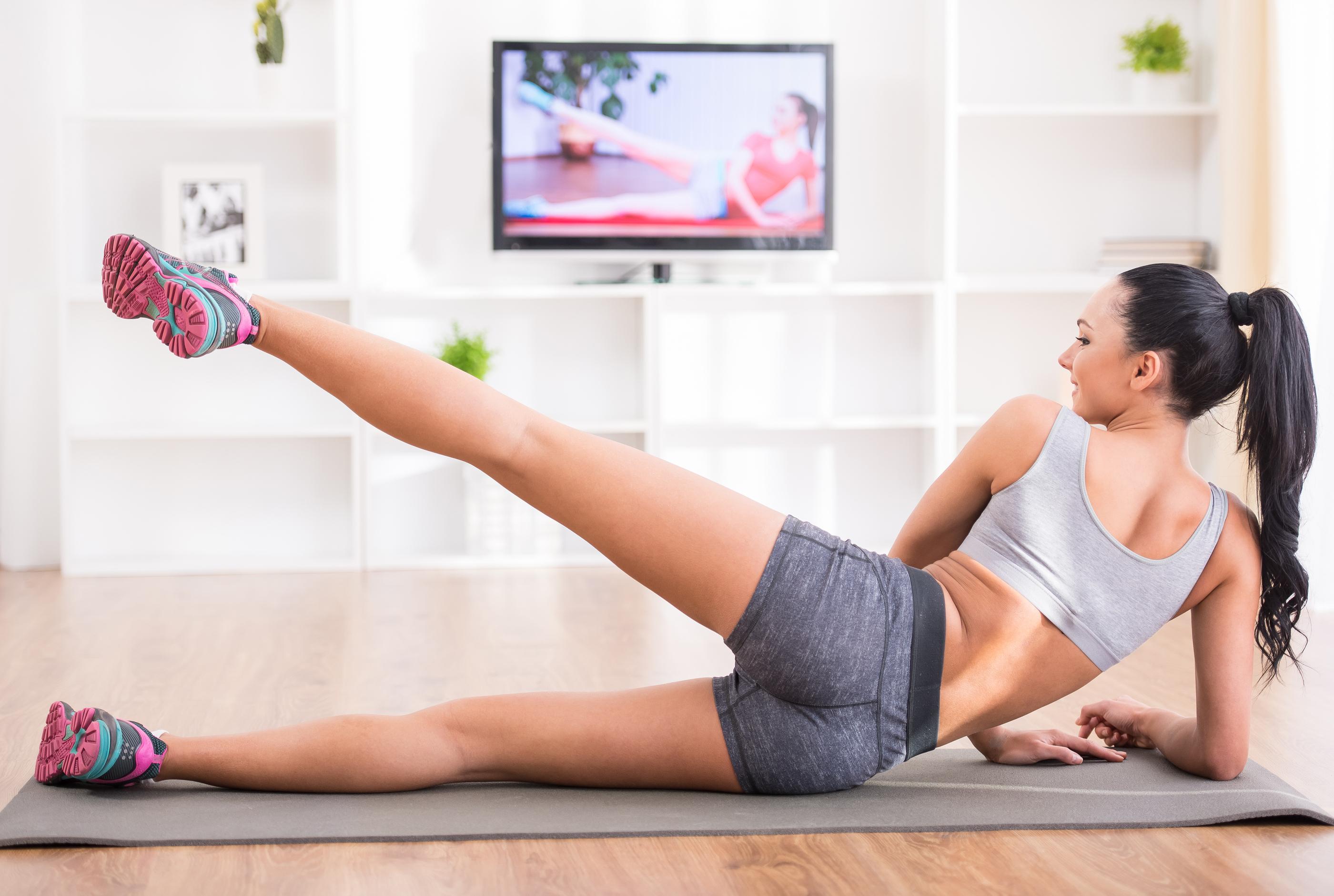 Фитнес спортзале чтобы похудеть