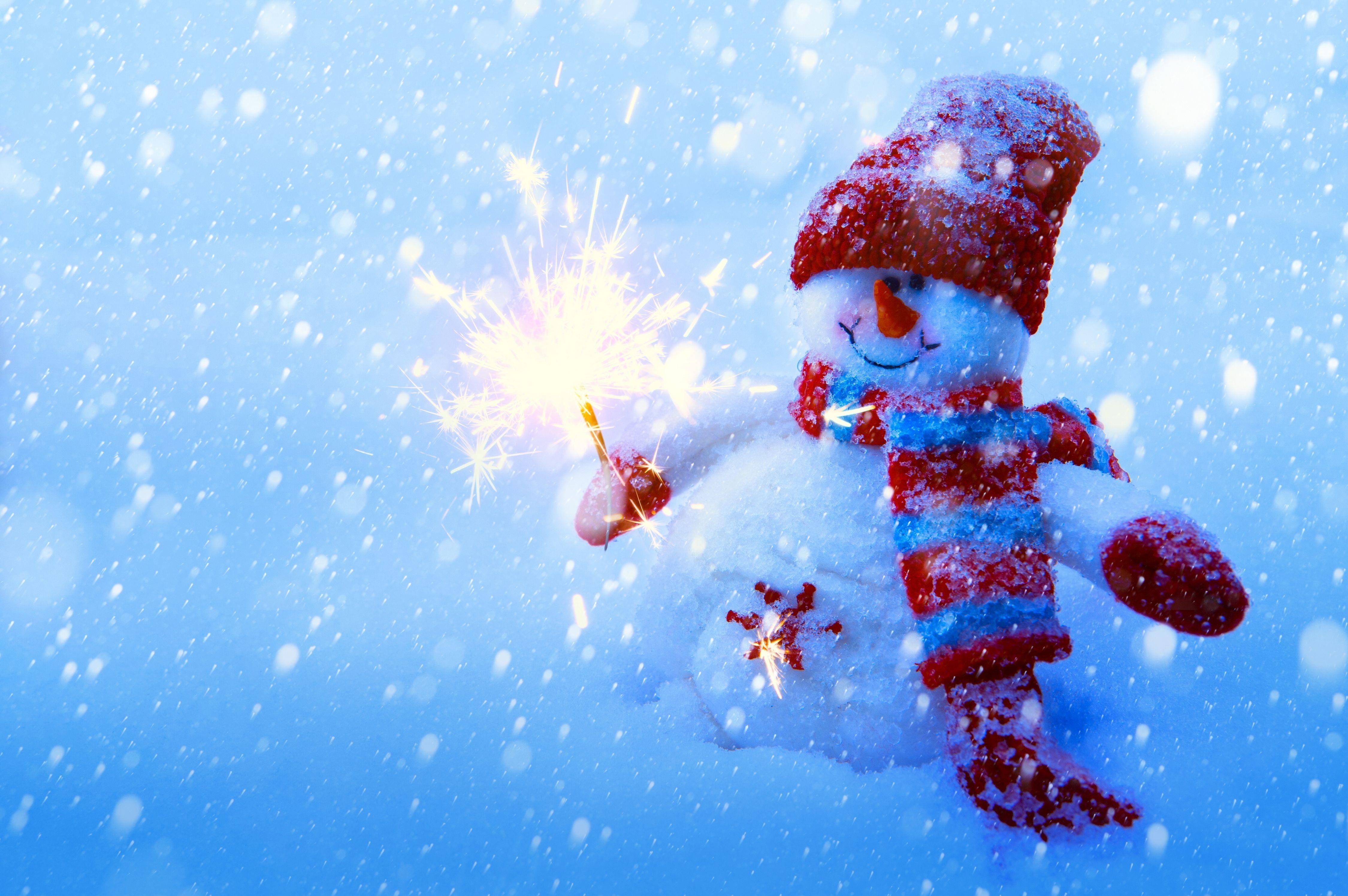 снеговик рождество улыбка снег бесплатно
