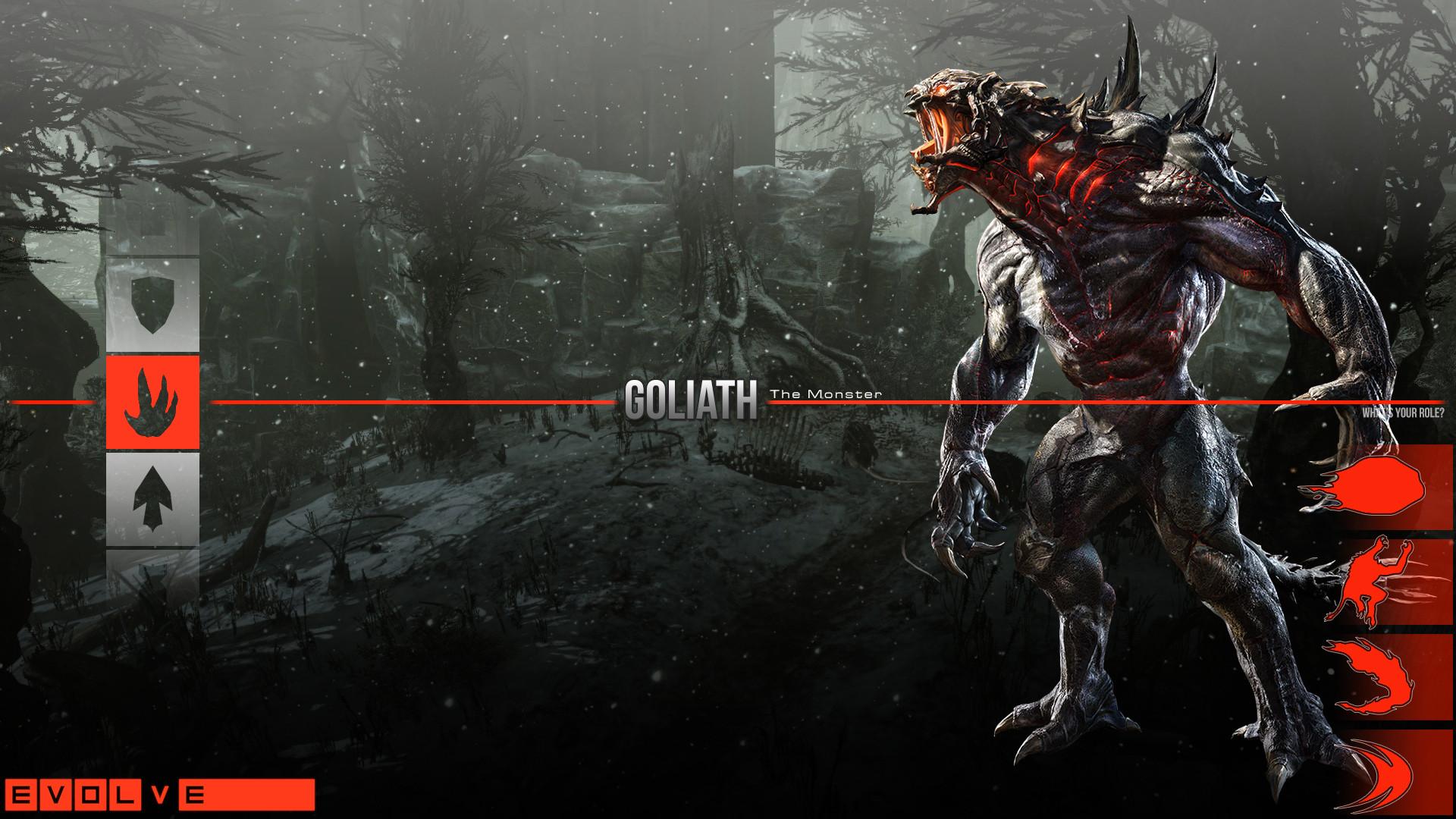 Обои Evolve, монстр, turtle rockstudios, 2k games, goliath, голиаф. Игры foto 19