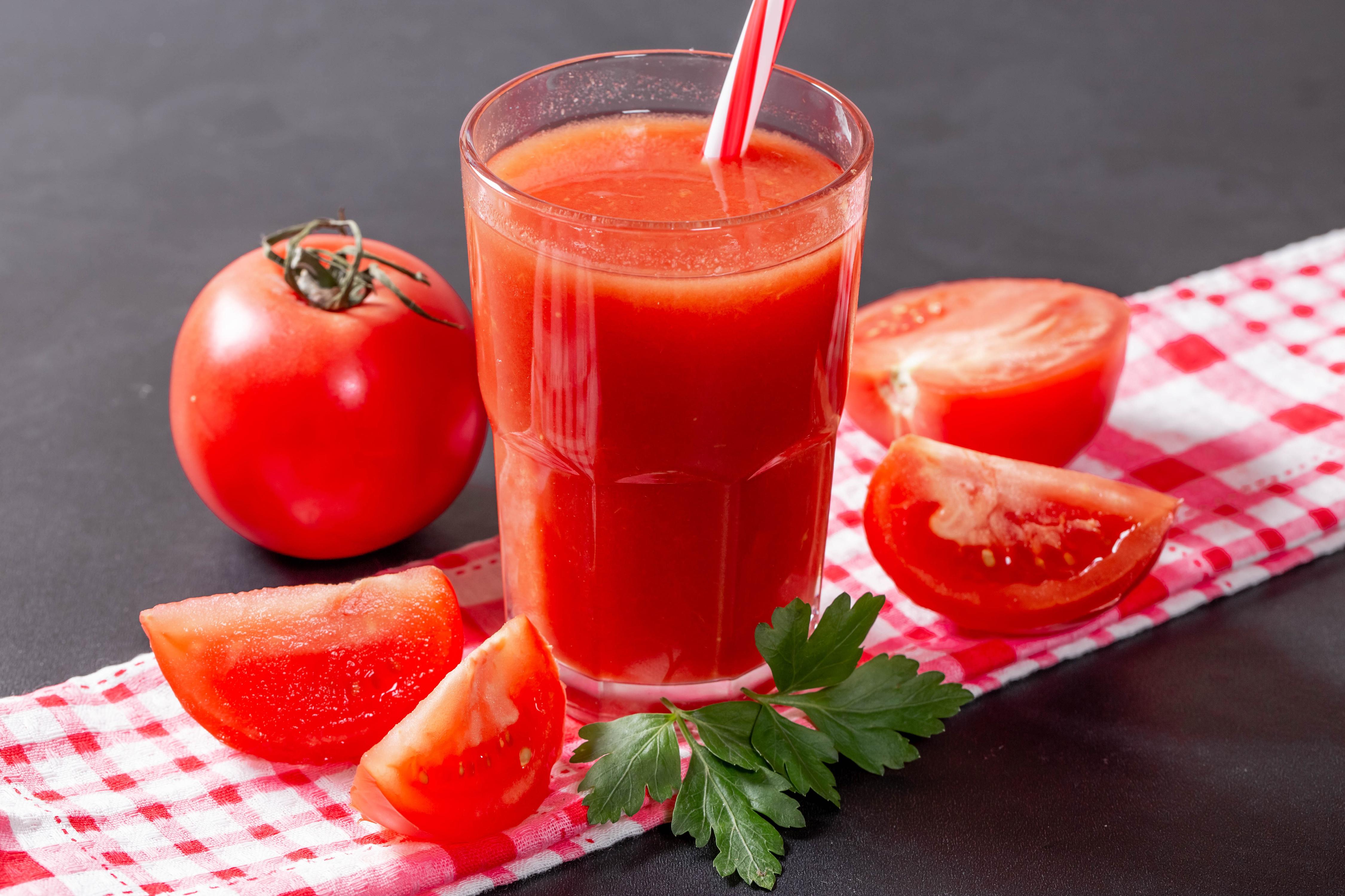 Как приготовить томатный сок для диеты