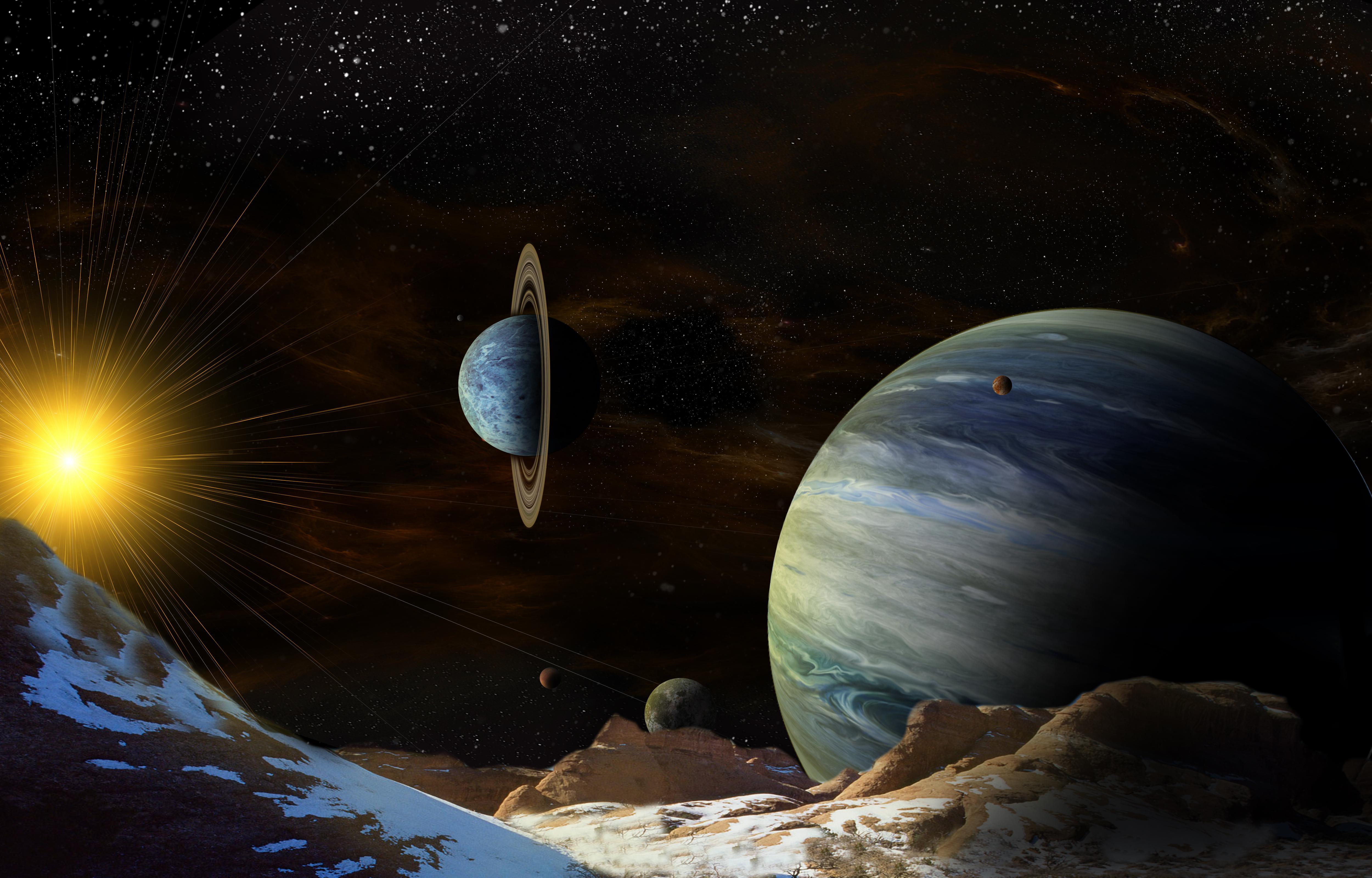 Скачать Космические Обои