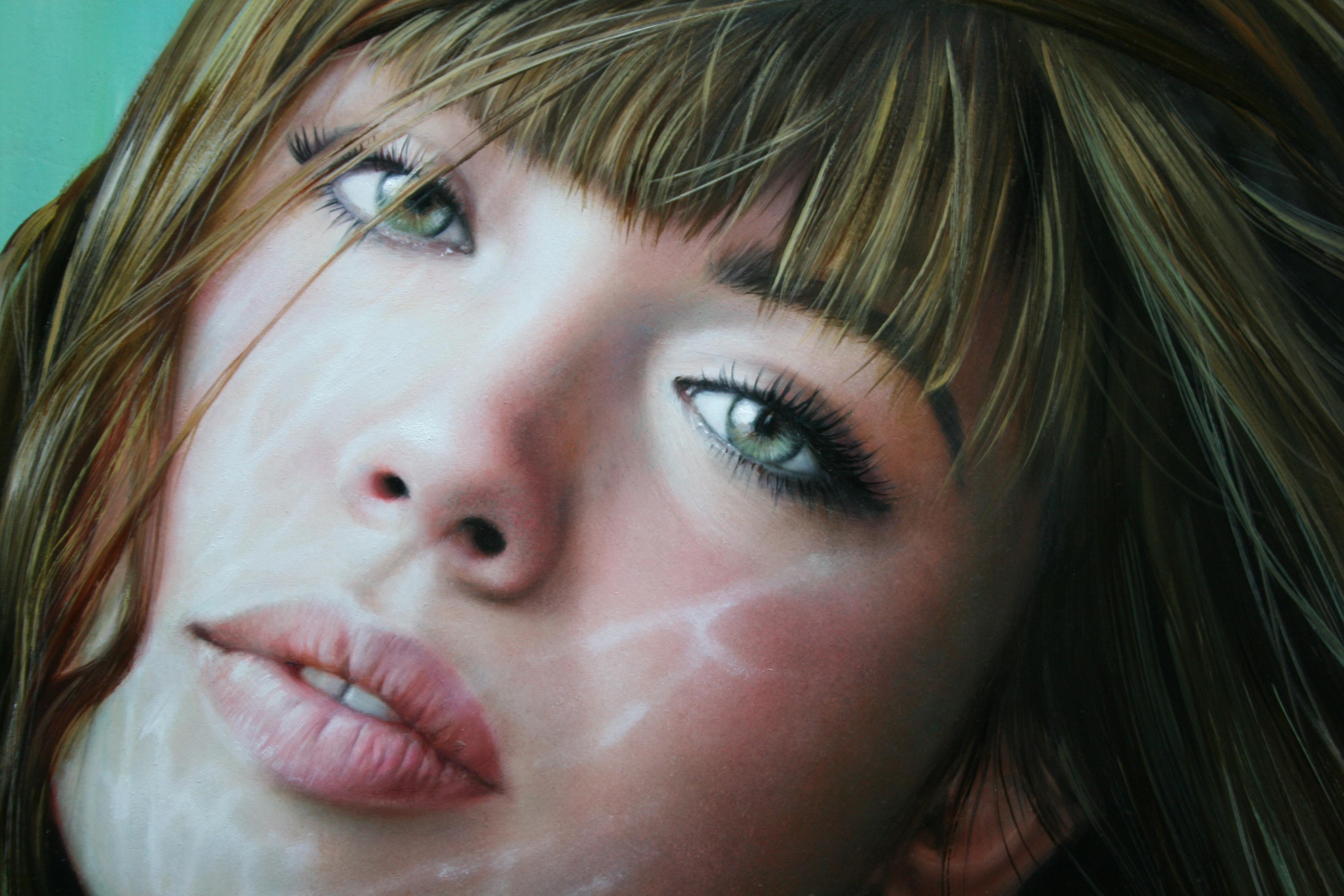 девушка губы лицо взгляд скачать