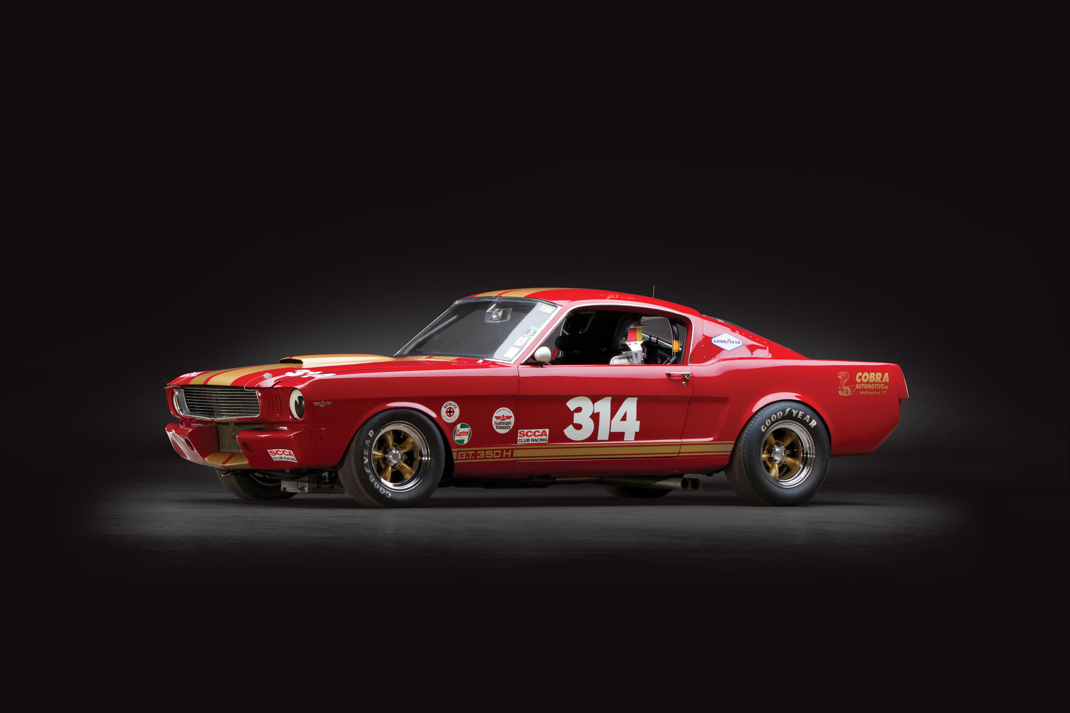 Ford Mustang гоночный красный тюнинг бесплатно