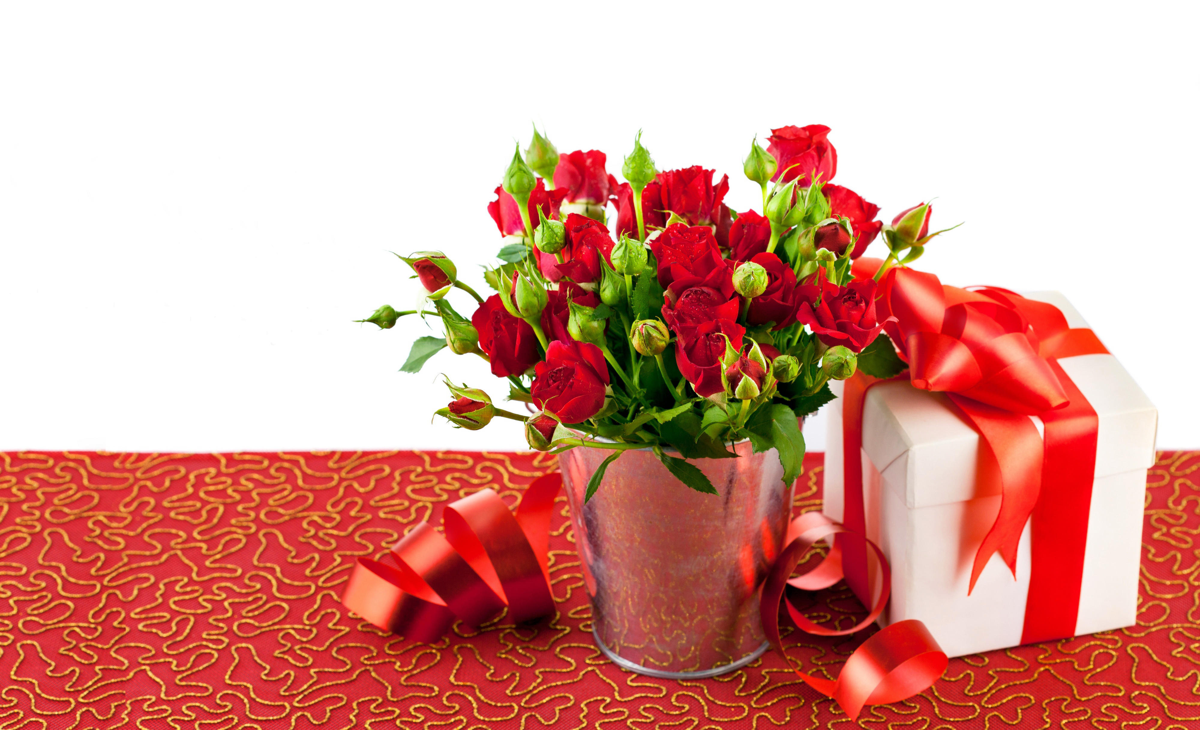 розы красные подарок загрузить