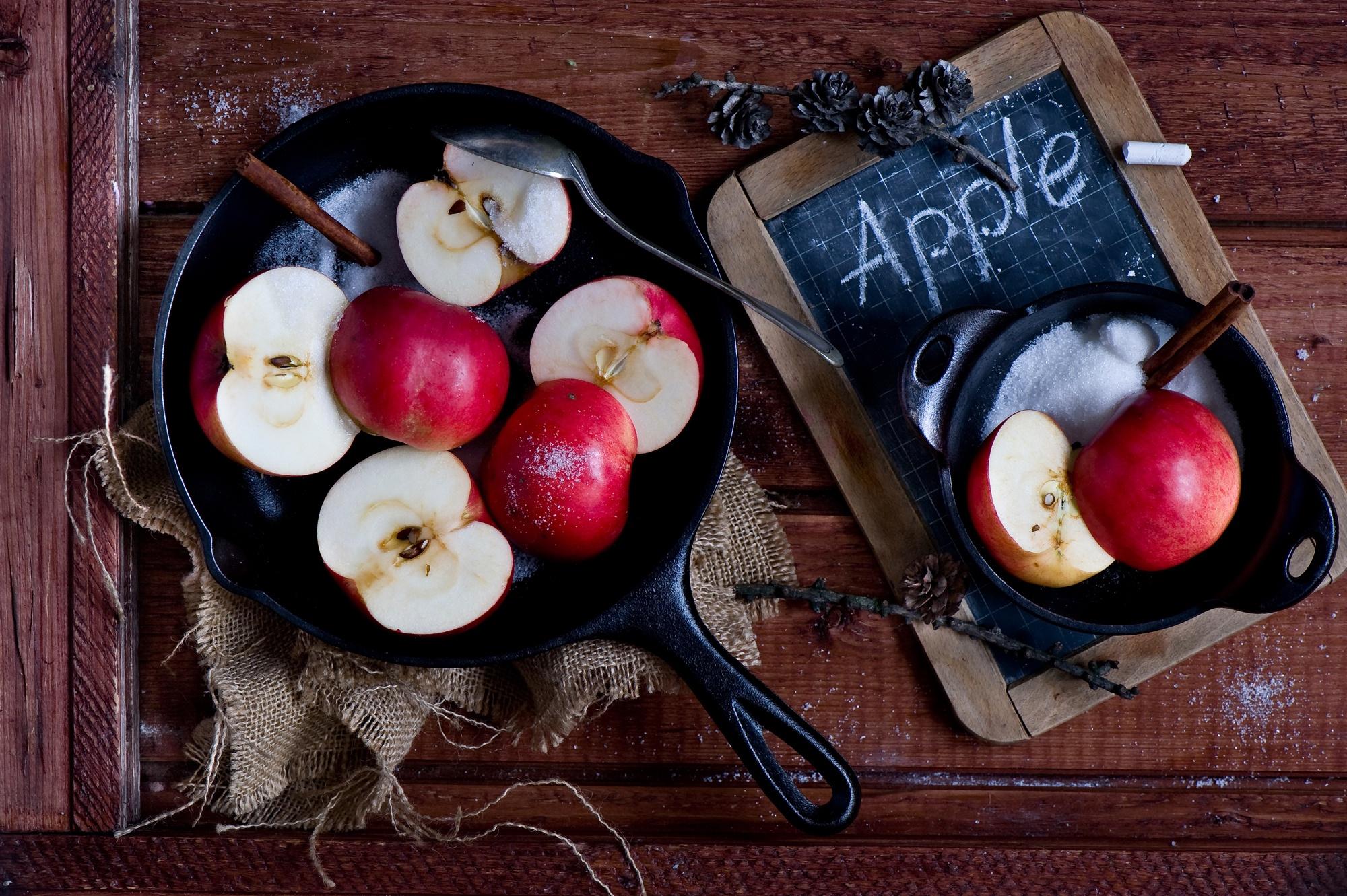 еда яблоки food apples скачать