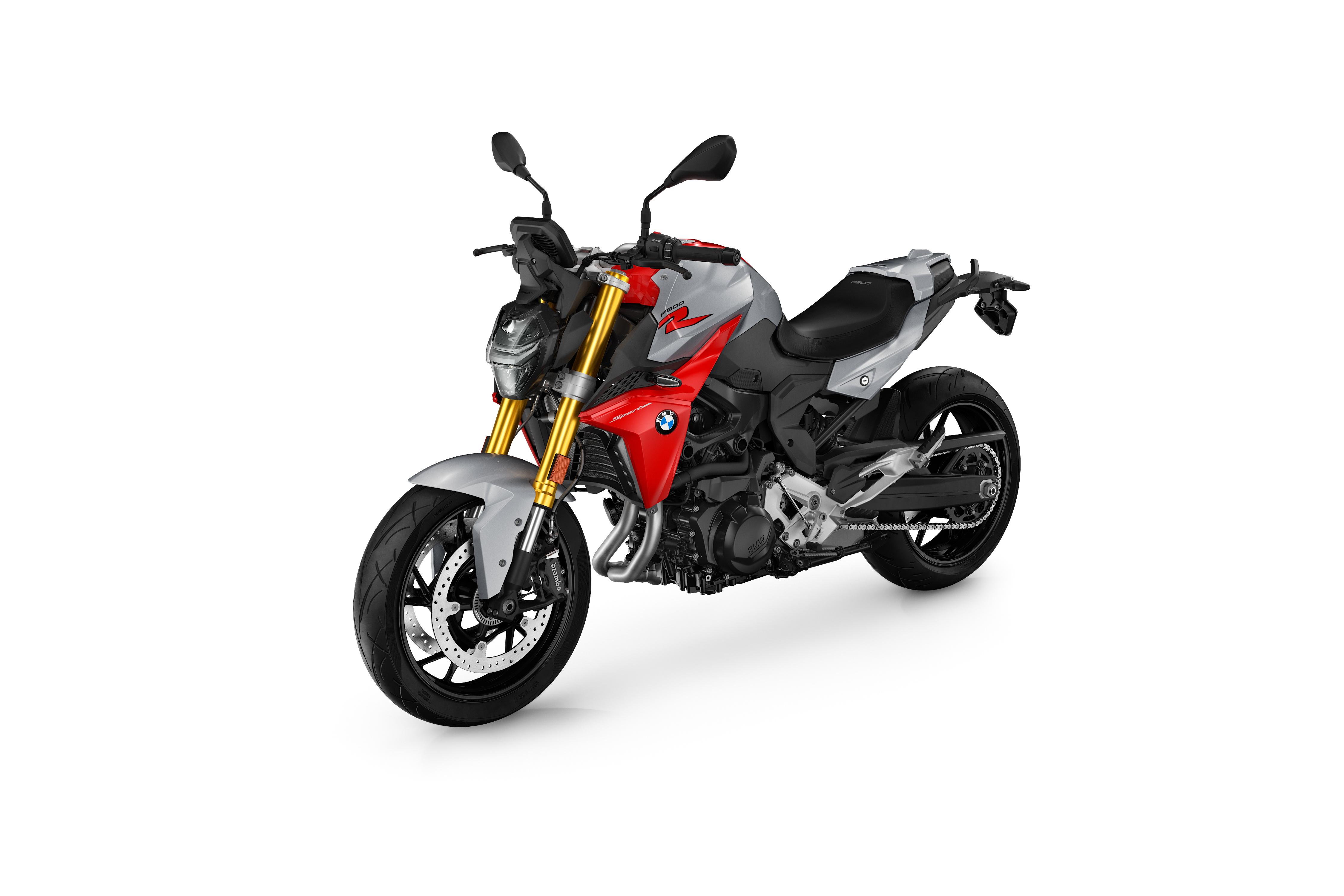 Картинки БМВ F 900 R, 2020 мотоцикл белом фоне 4500x3000 BMW - Мотоциклы Мотоциклы Белый фон белым фоном