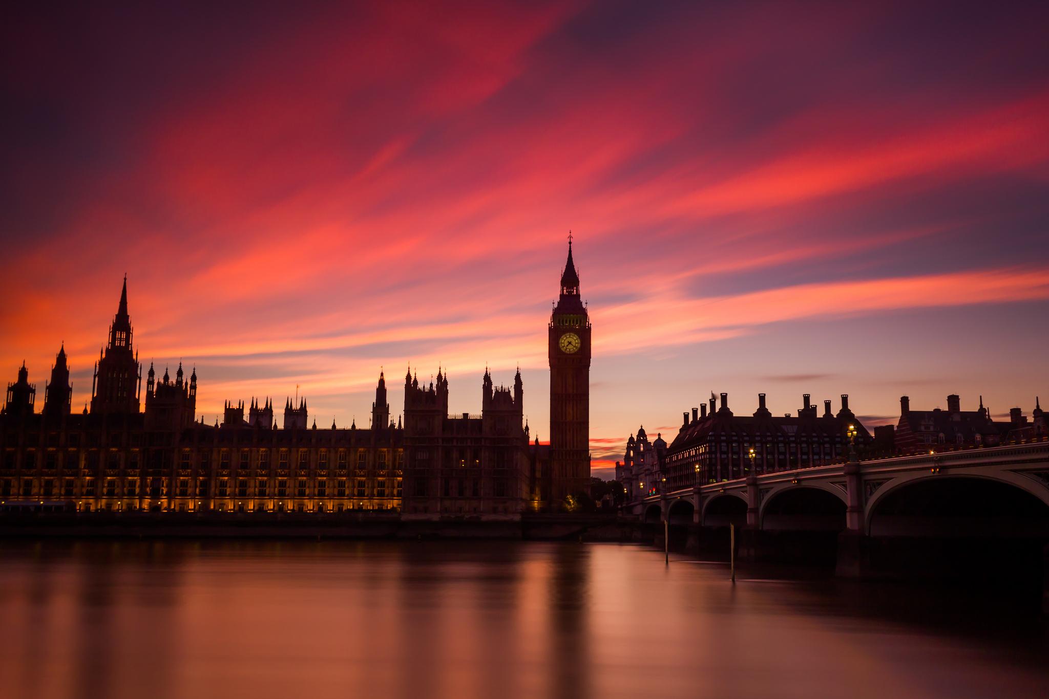 город лондон высота закат река темза загрузить