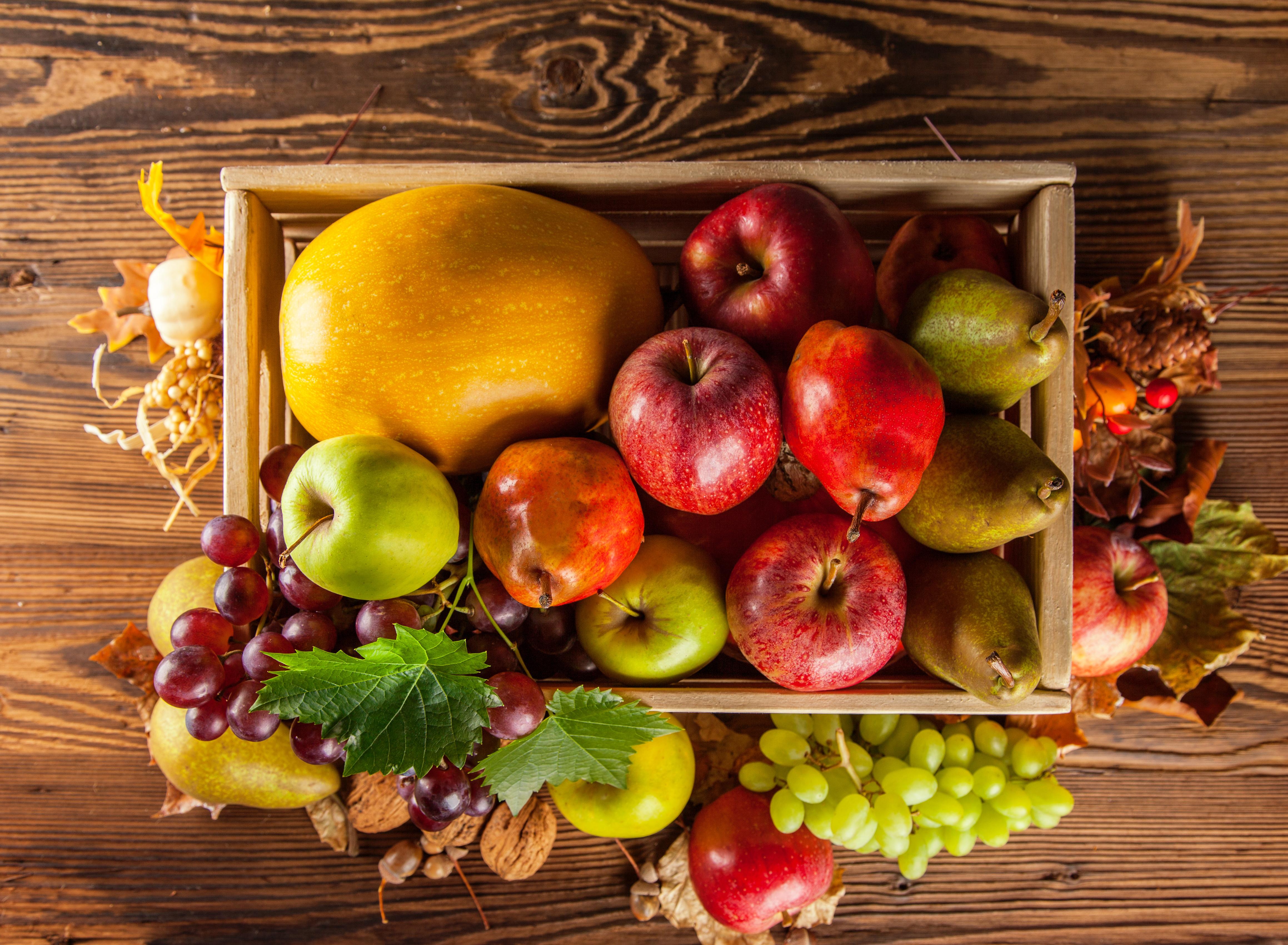 Картинки яблоки осенью